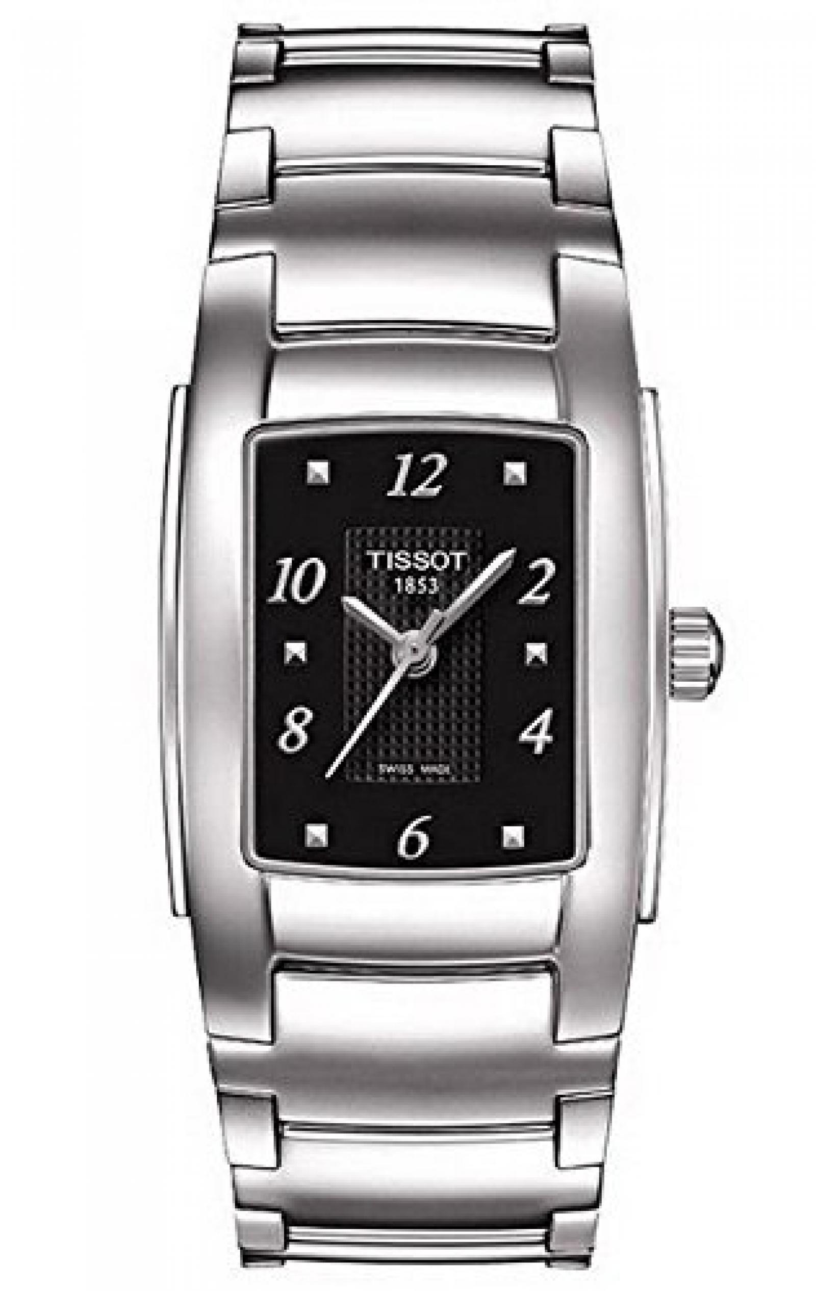 Tissot Damen-Armbanduhr T10 Lady Analog Quarz Edelstahl T073.310.11.057.00