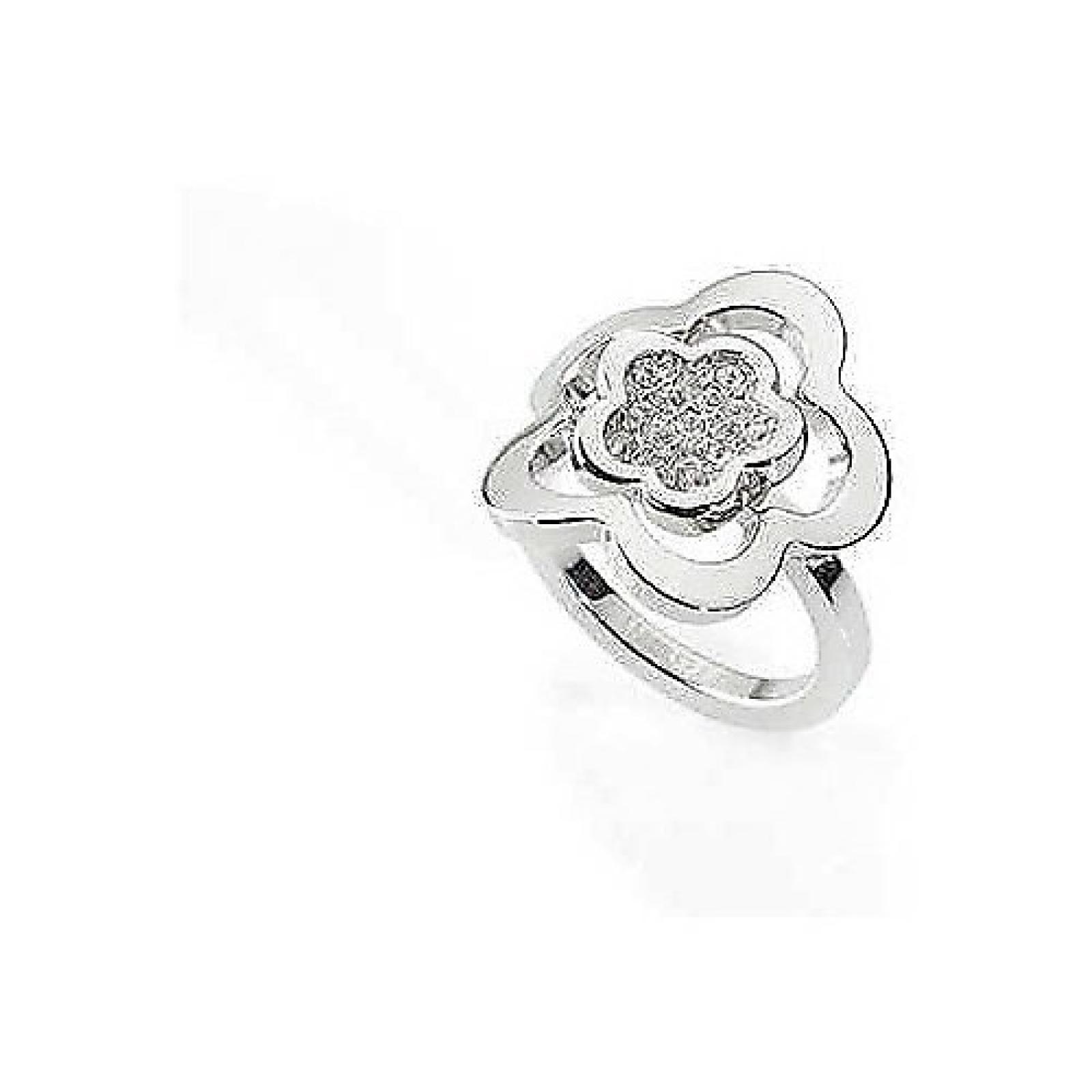 Morellato Damen-Ring Edelstahl silber Gr. SYW07014