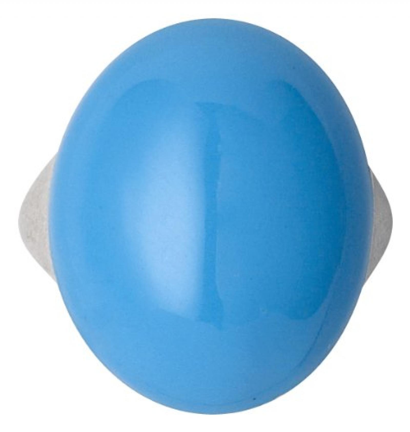 Pilgrim Jewelry Damen-Ring aus der Serie Energetic versilbert türkis 2.1 cm verstellbar Gr. 51-59 251316204