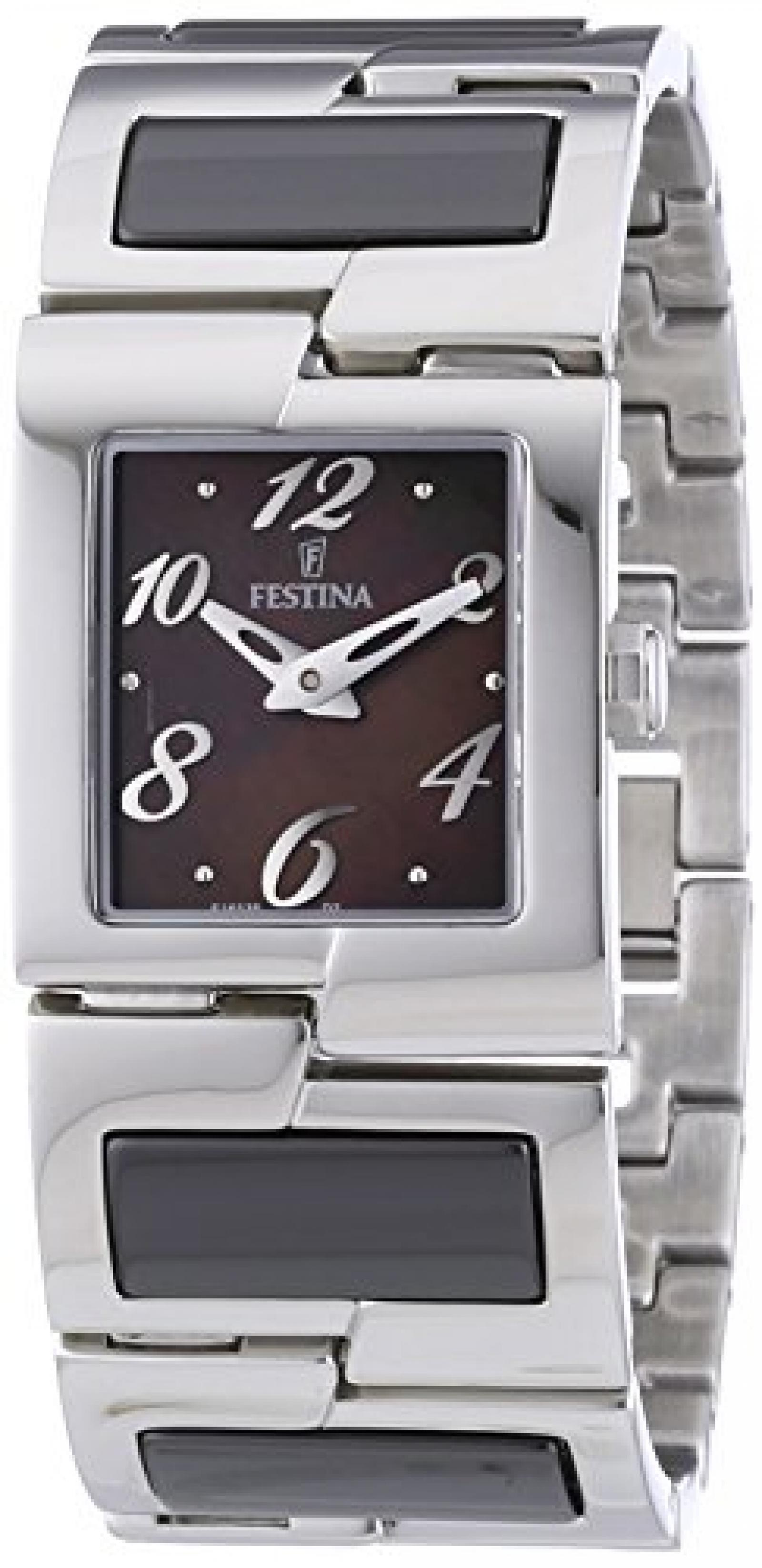 Festina Damen-Armbanduhr XS Trend Ceramic Analog Keramik F16535/2