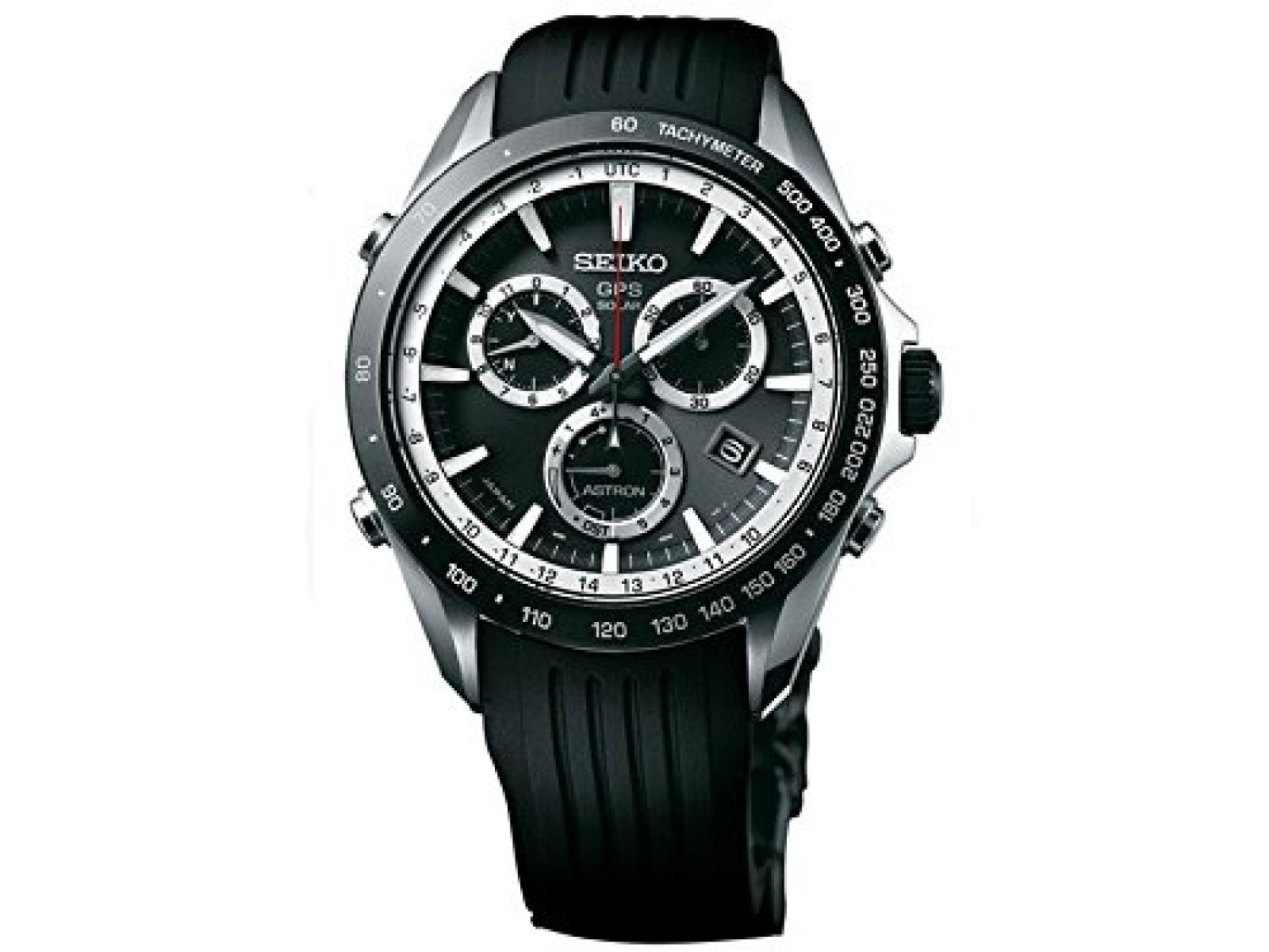 Seiko Astron GPS Solar Herren-Armbanduhr SSE015J1