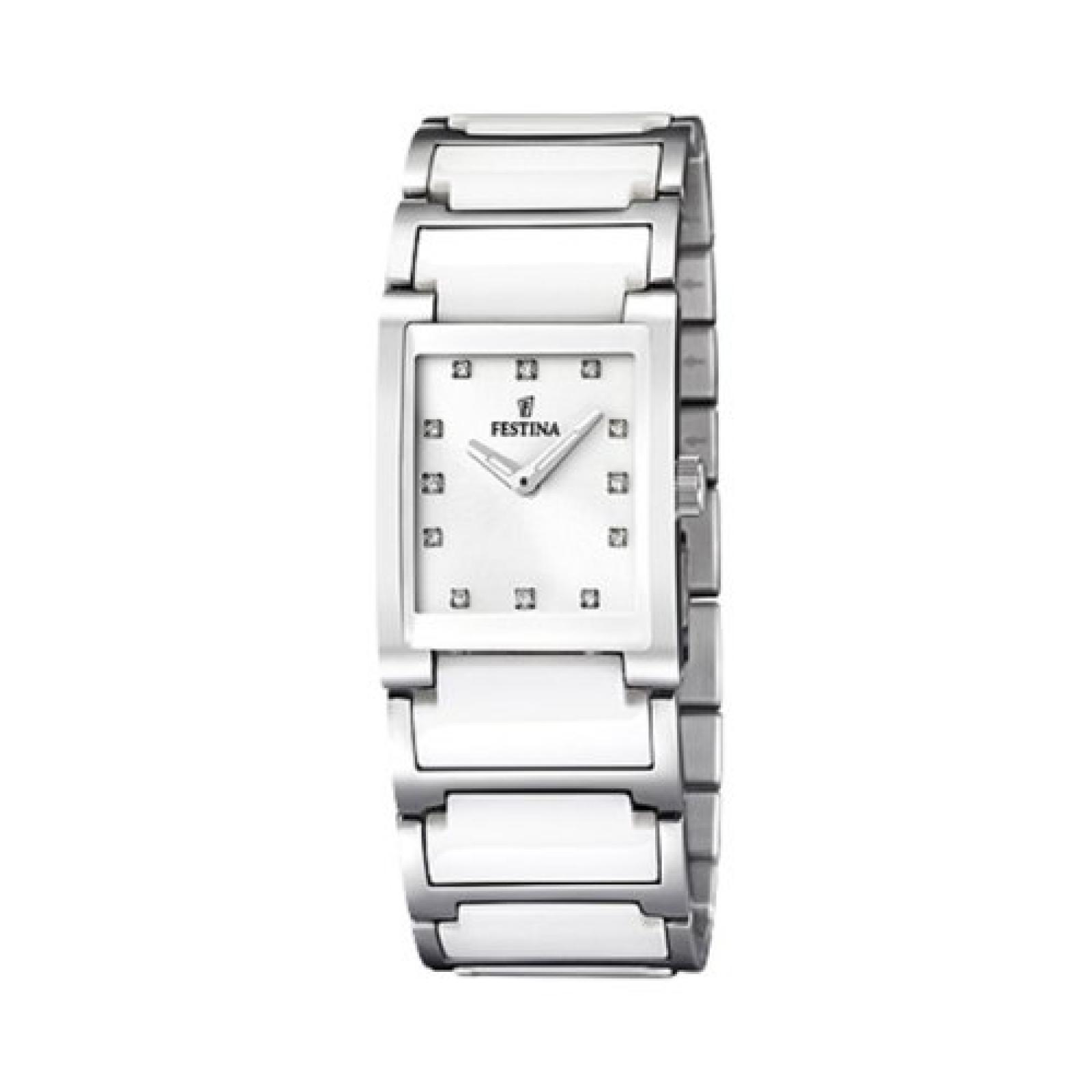 Festina Damen-Armbanduhr XS Analog Quarz verschiedene Materialien F16536/3