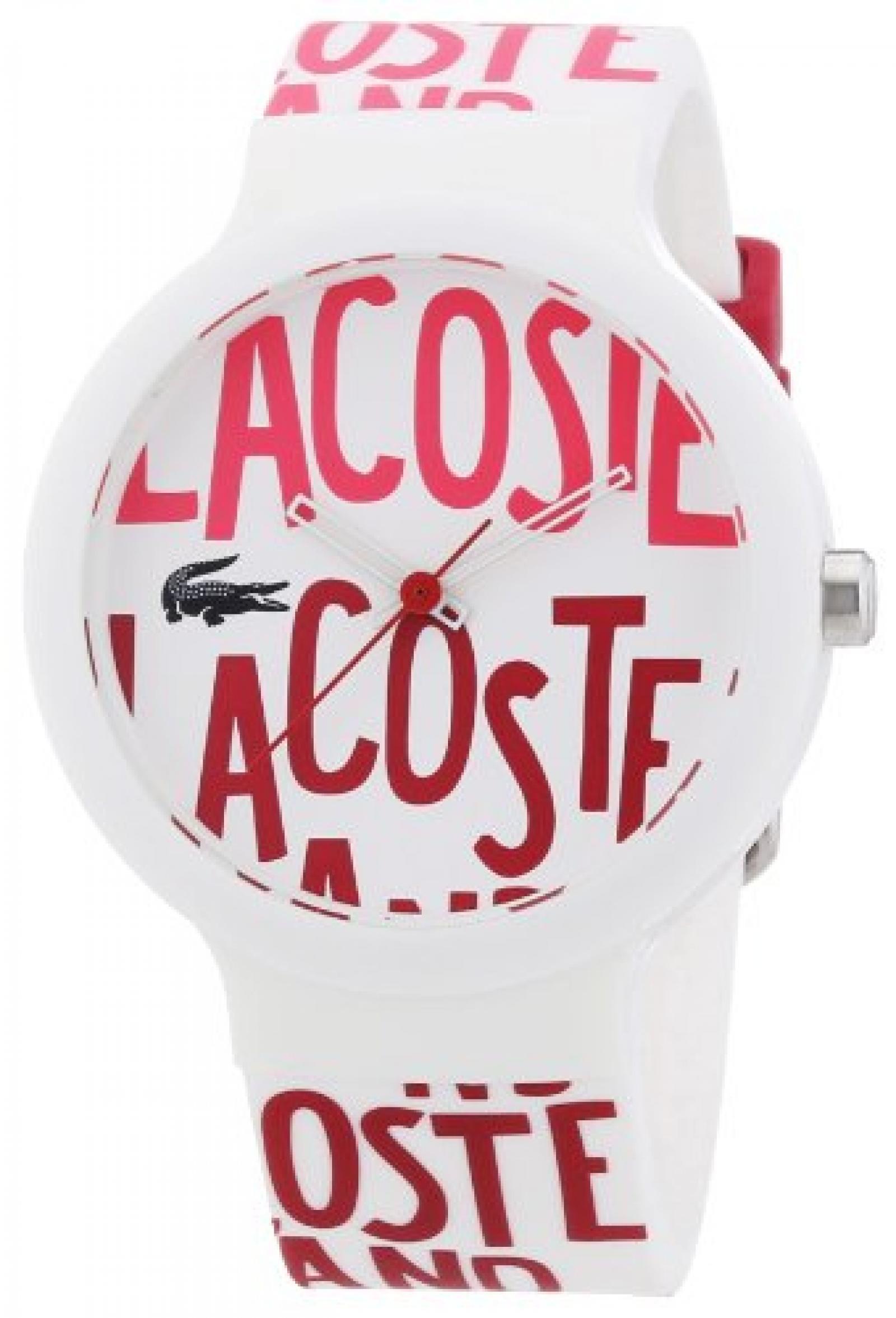 Lacoste Unisex-Armbanduhr Analog Quarz Silikon 2020053