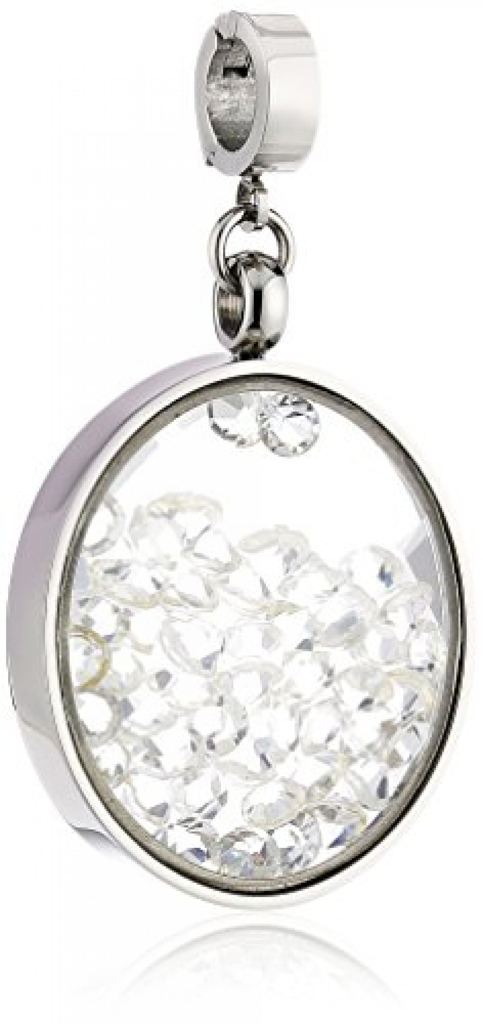 Leonardo Jewels Damen-Anhänger Edelstahl Glas Darlins 5.7 cm 015385