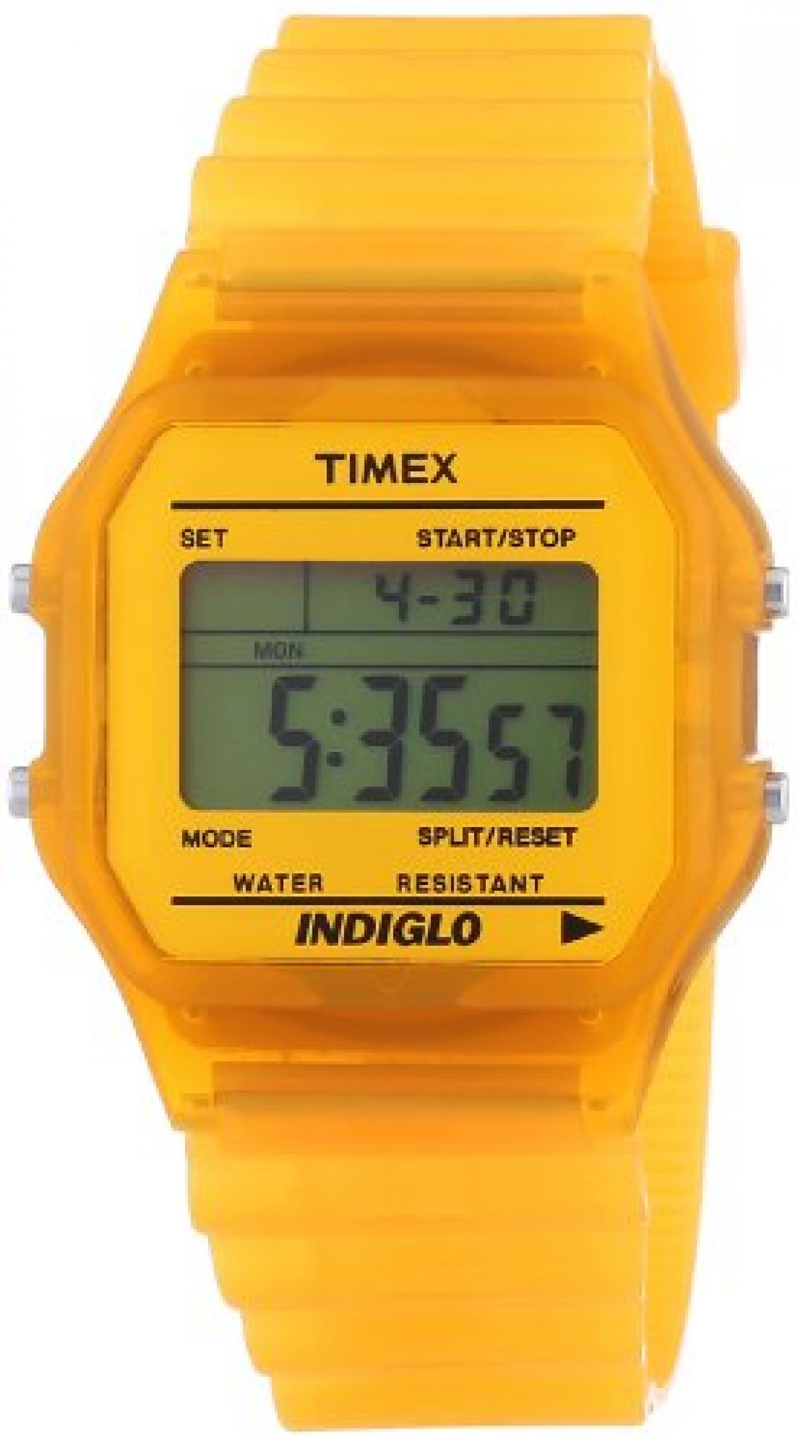 Timex Unisex-Armbanduhr core Digital Quarz Plastik T2N807