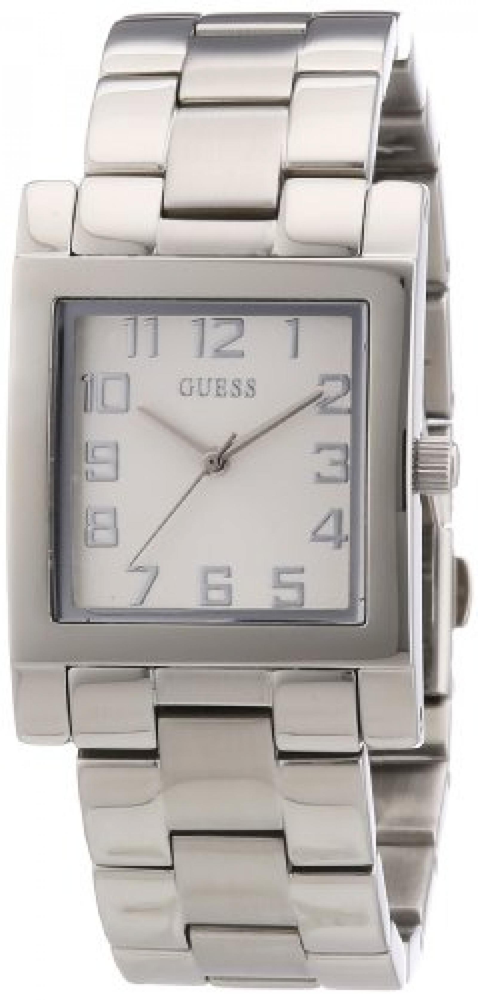 Guess Damen-Armbanduhr XS Analog Quarz Edelstahl W0131L1
