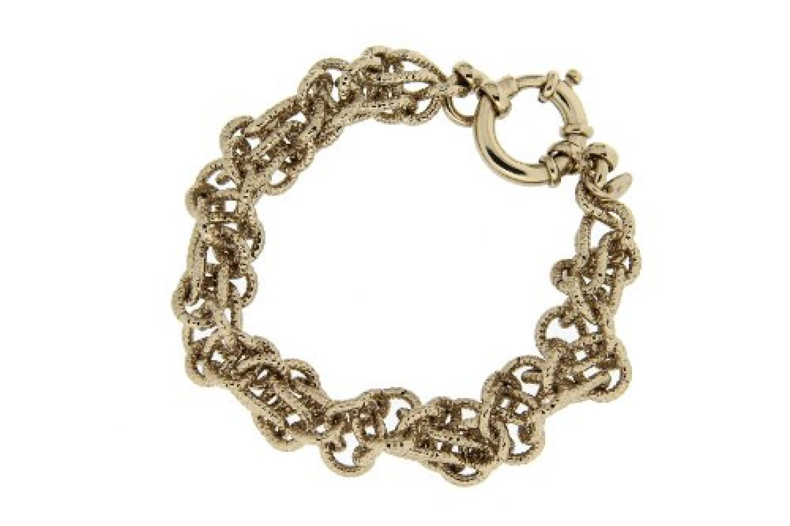 Kettenworld Damen Armband Bronze 22.0 cm 266136
