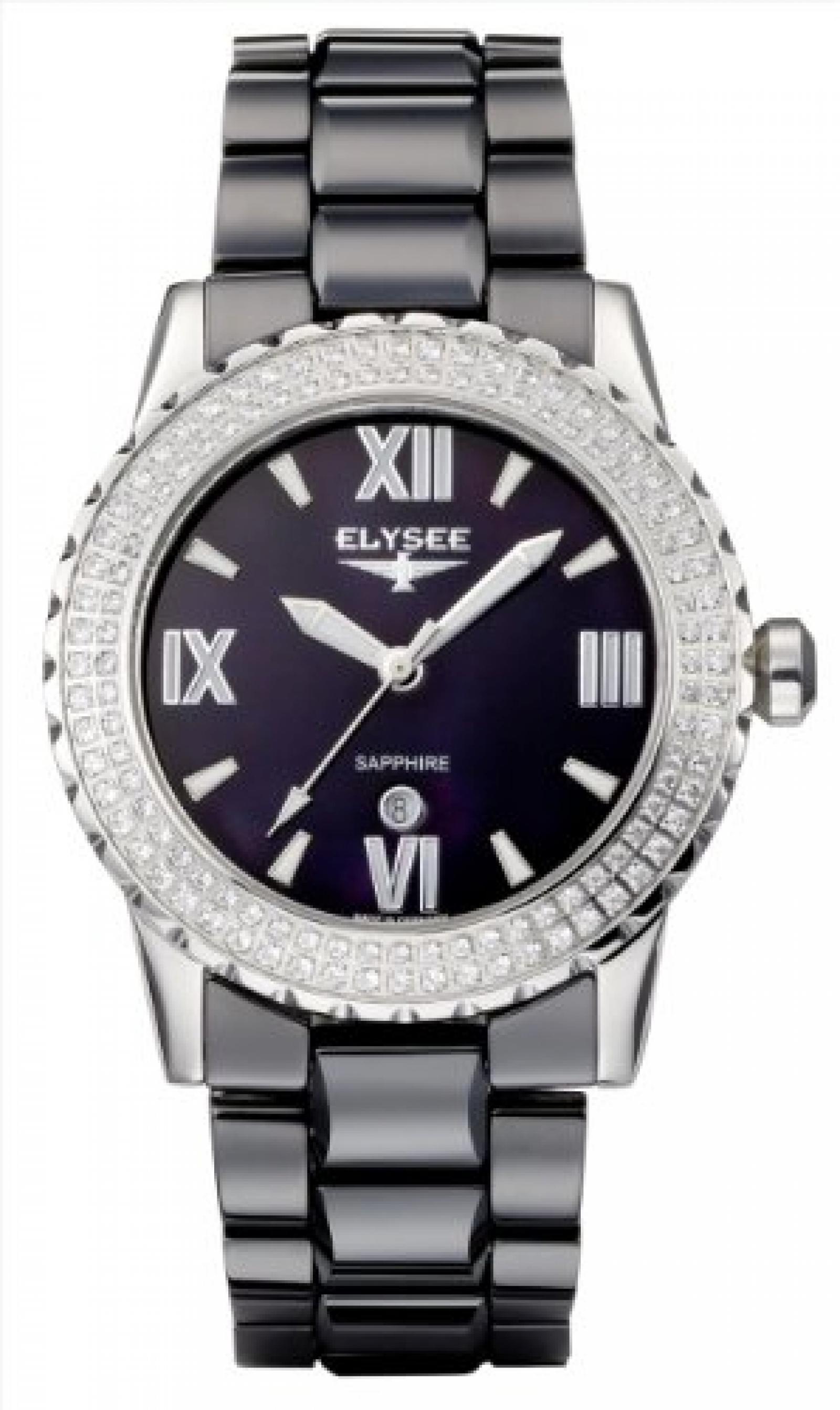 Elysee Damen-Armbanduhr VALERIE Analog Keramik 30016