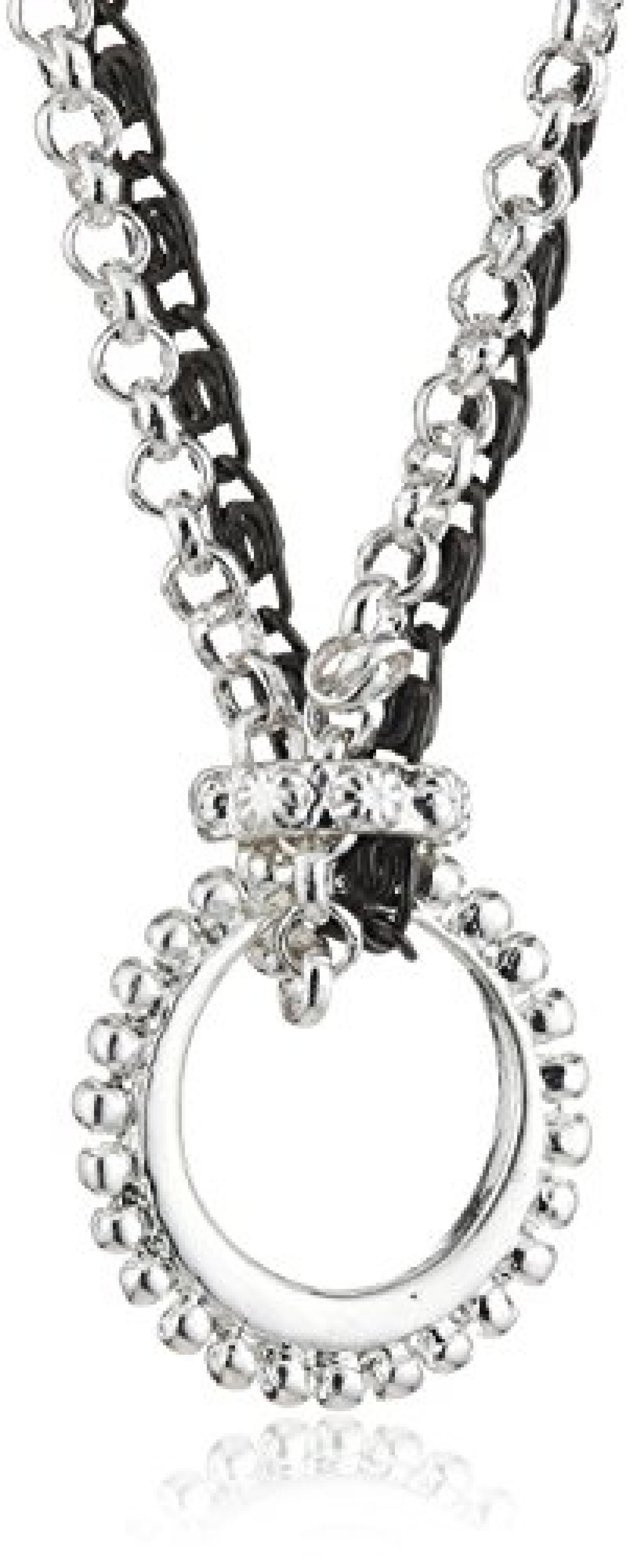 Pilgrim Damen-Halskette charms versilbert & metallmix 90 cm 40114-9002