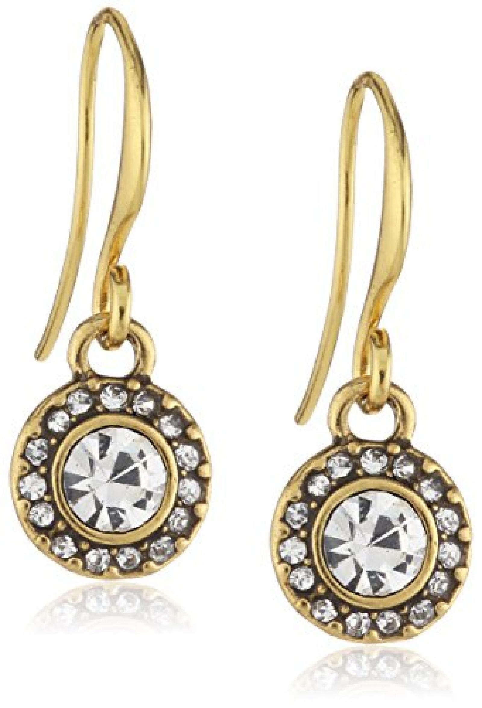 Pilgrim Jewelry Damen-Ohrringe aus der Serie Classic vergoldet kristall 2.3 601232073