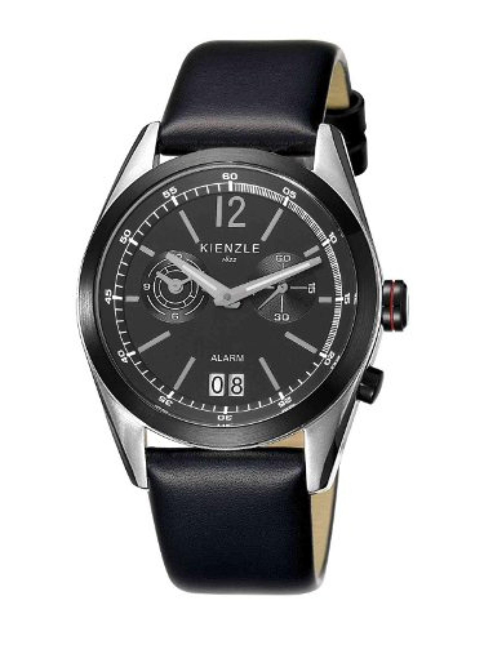 Kienzle Herren-Armbanduhr XL Analog Leder K3071123021