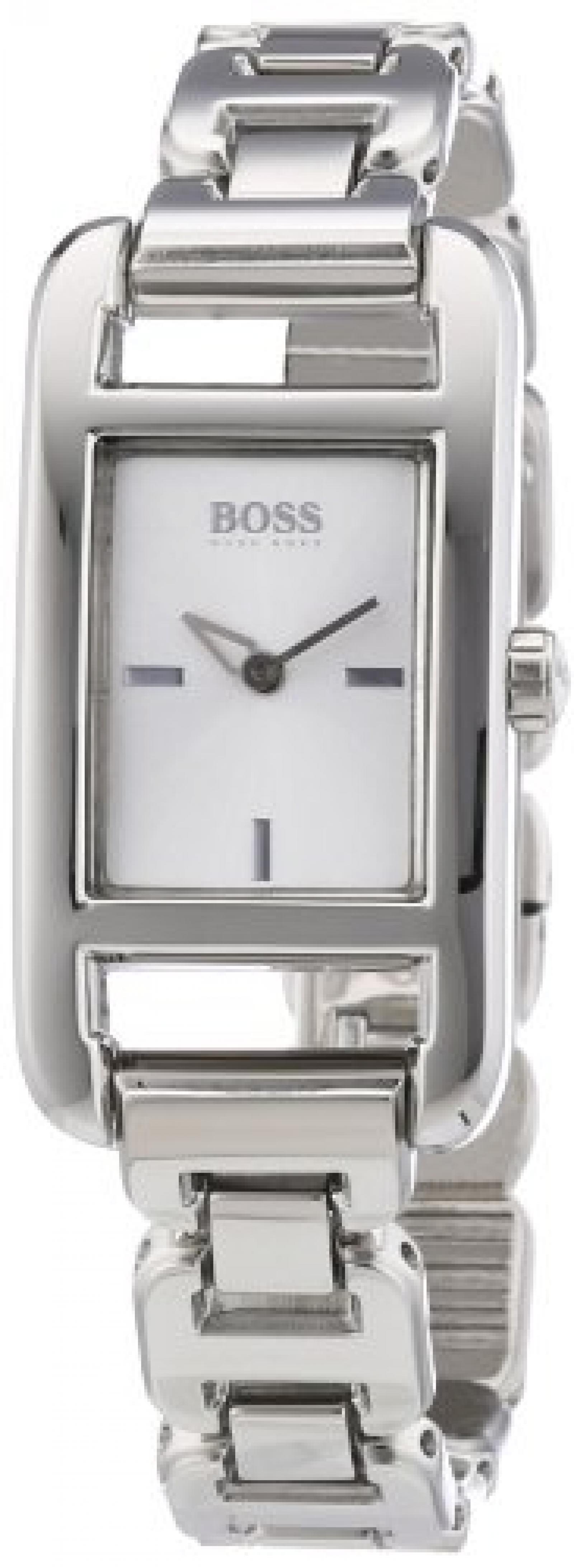 Hugo Boss Damen-Armbanduhr Analog Quarz Edelstahl 1502338