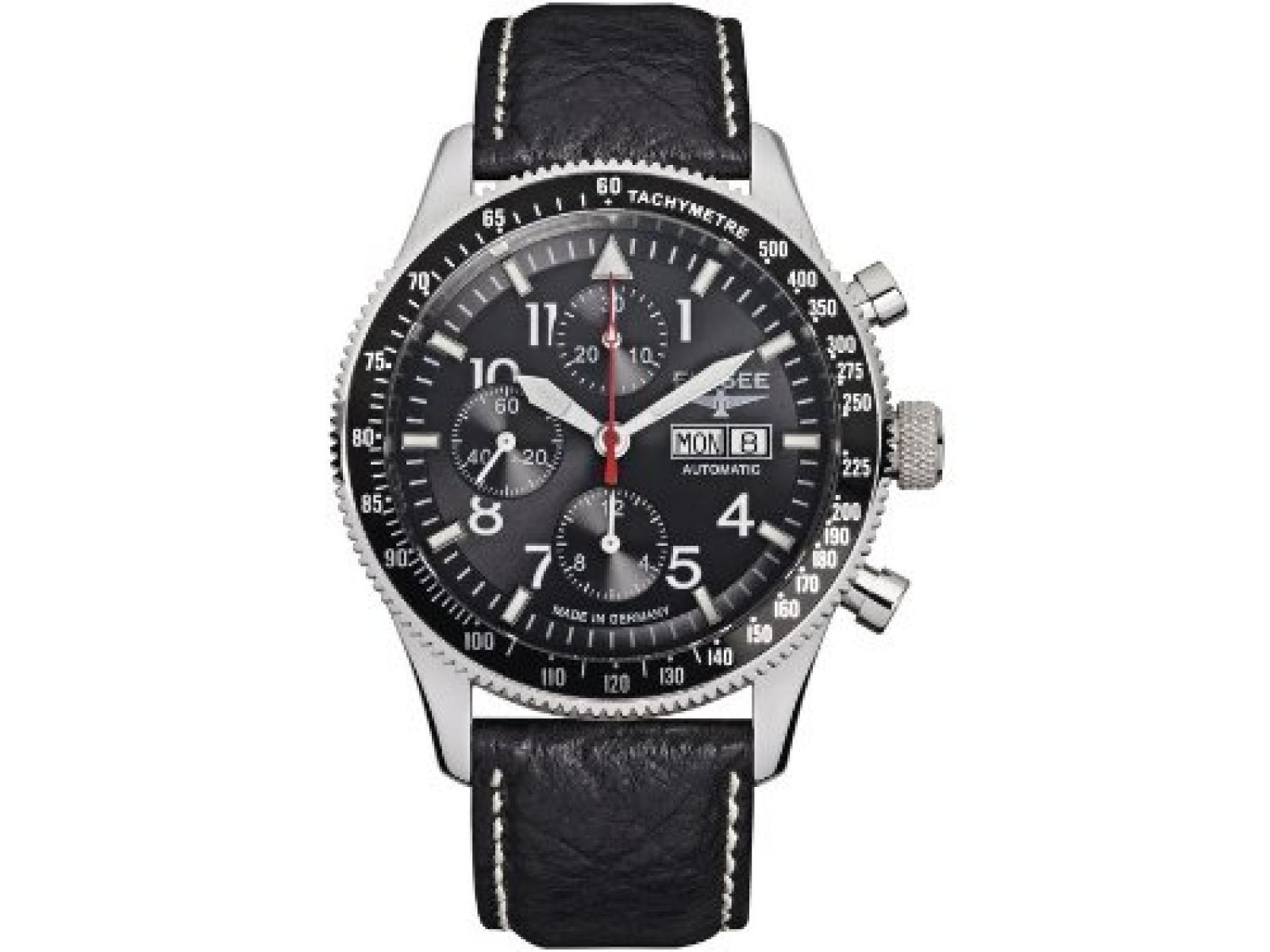Elysee Herrenuhr Chronograph Executive I 80530black