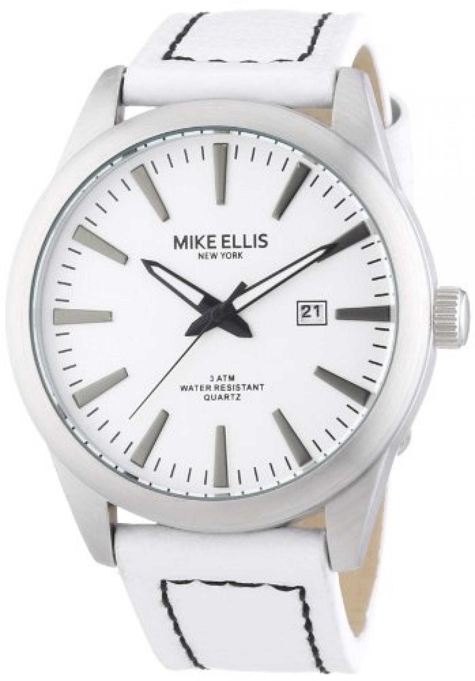 Mike Ellis New York Herren-Armbanduhr XL Analog Quarz 17993