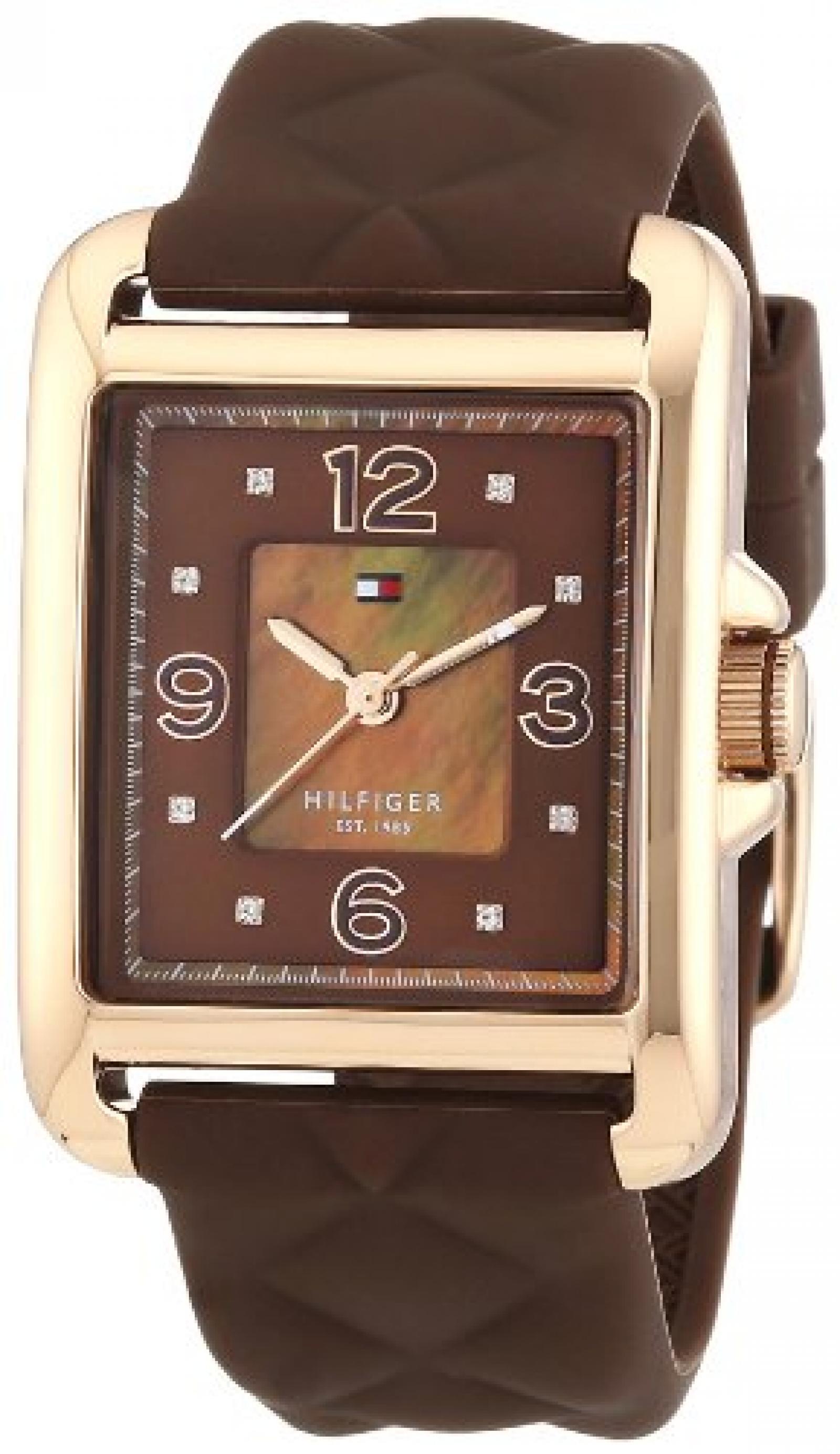 Tommy Hilfiger Damen-Armbanduhr Sport Luxury Analog Quarz Silikon 1781245