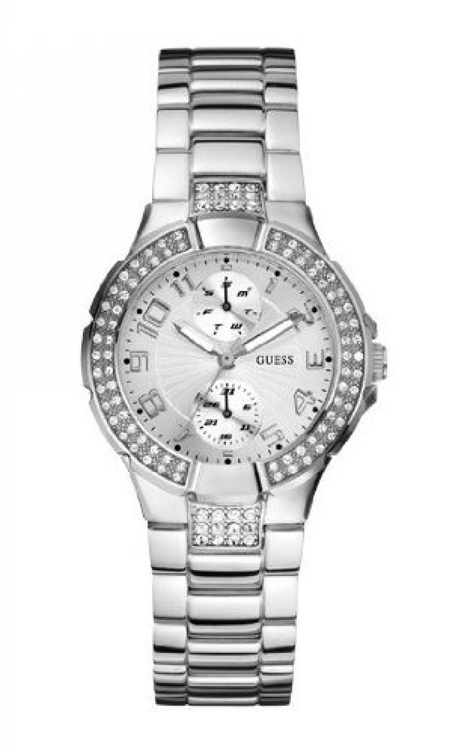 Guess Damen-Armbanduhr Analog Edelstahl W12638L1
