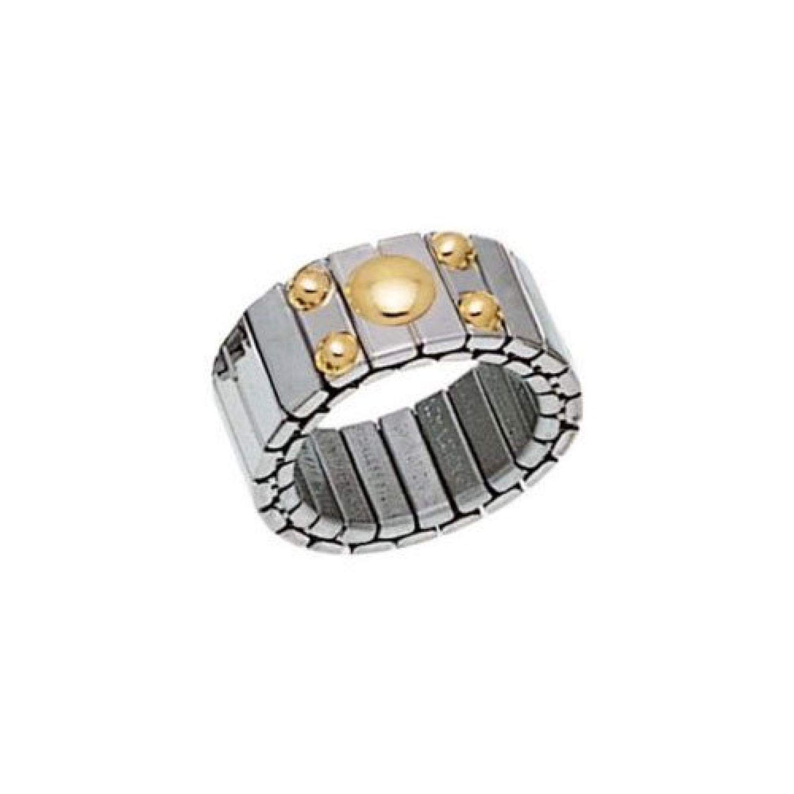 Nomination Damen-Ring Mittel Mit 1 Symbol Kugelchen Ring größe variabel 040020/008