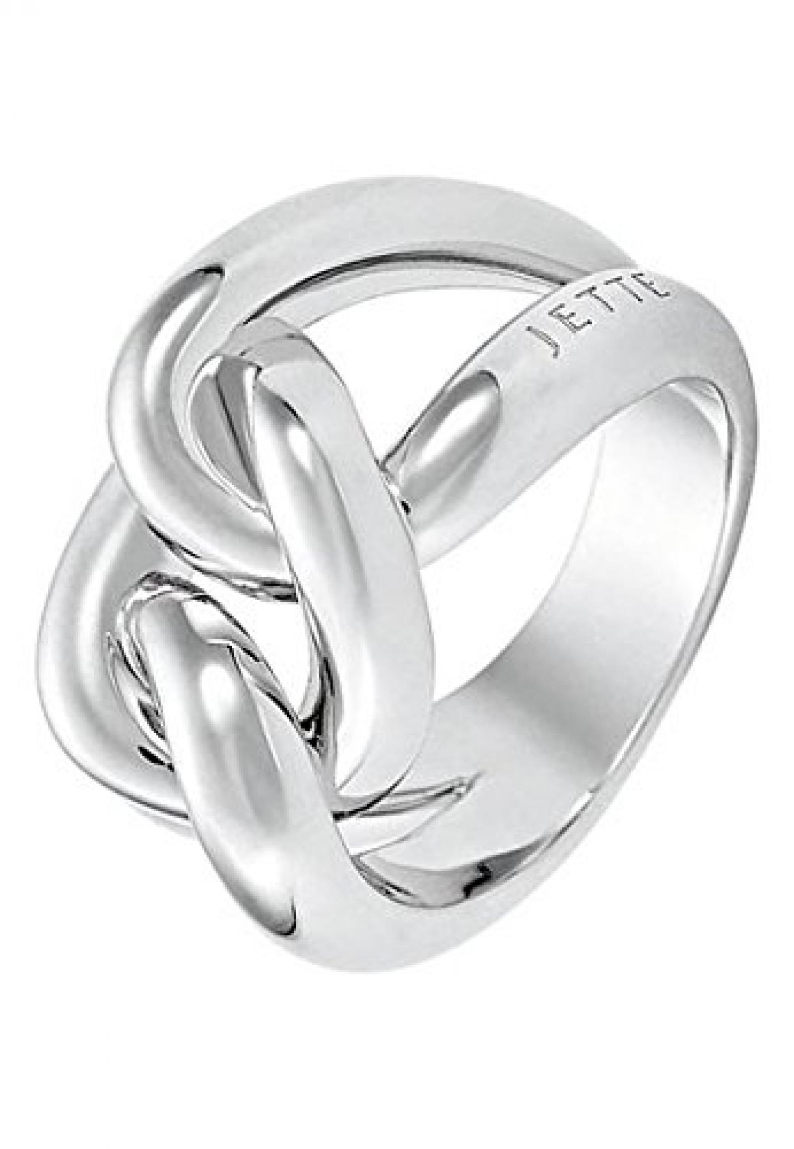 JETTE Silver Damen-Ring CONNECTED Silber (silber)