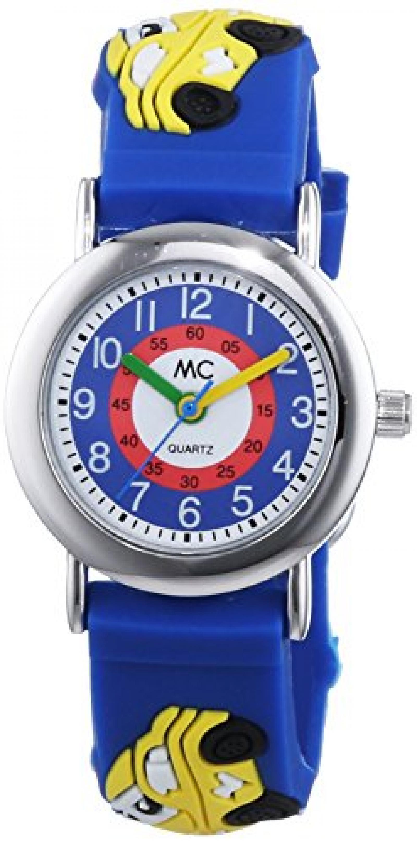 MC Timetrend Jungen-Armbanduhr Auto Lernuhr Quarz Plastik 51320