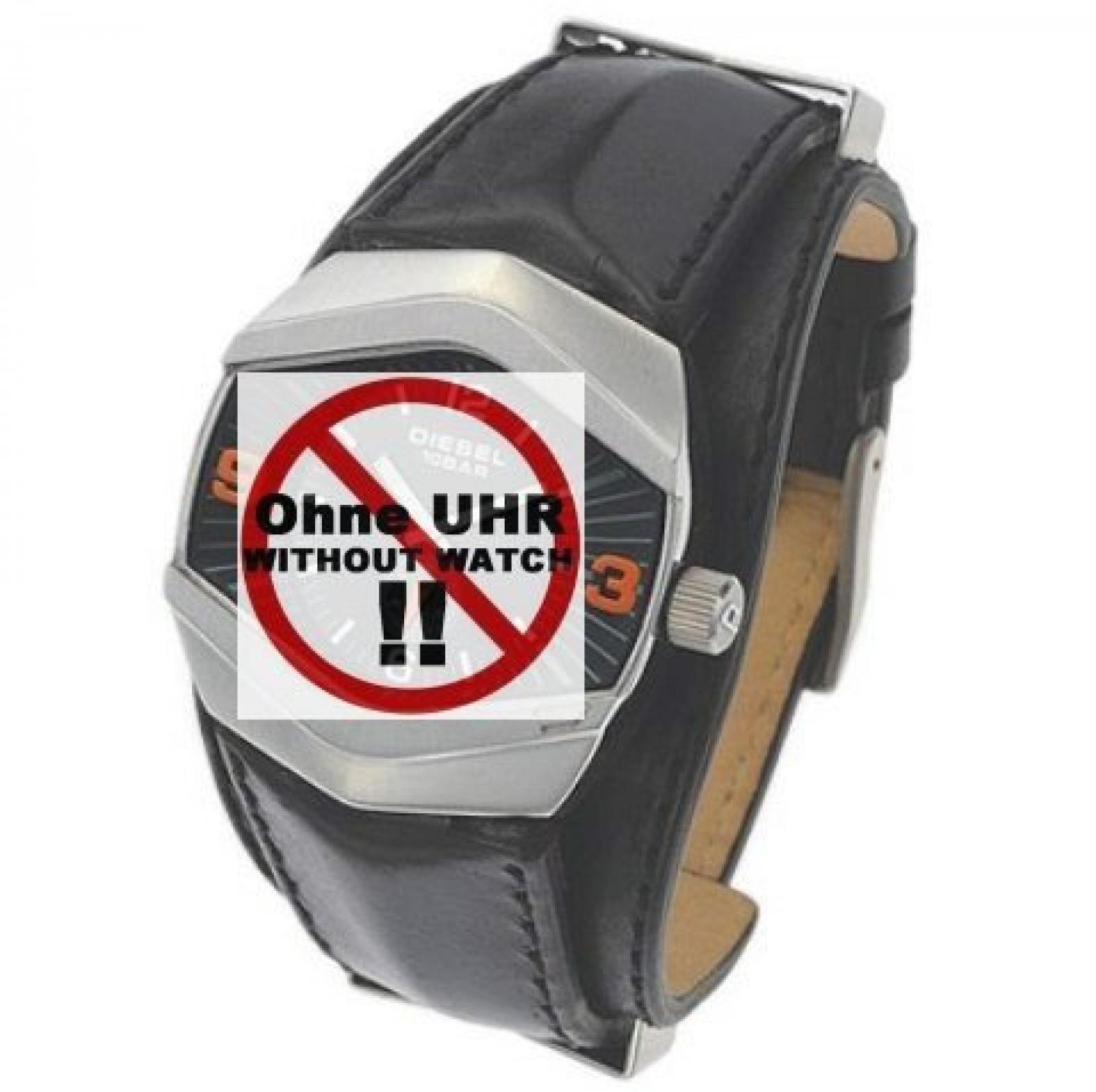 Diesel Uhrband Ersatzband Uhrenarmband Wechselarmband LB-DZ4073 Original Lederband für DZ 4073