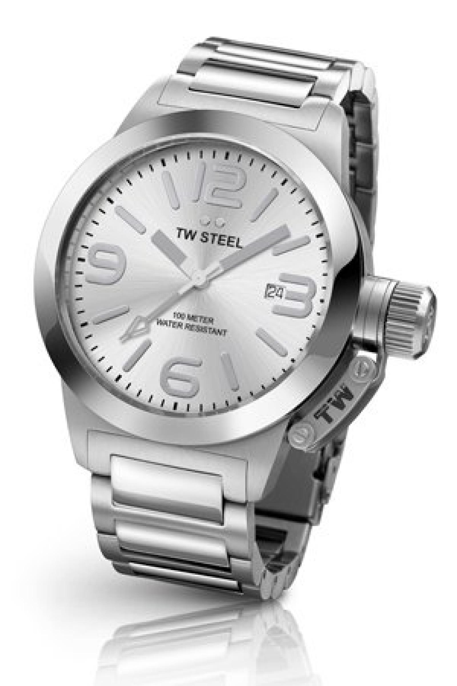 TW Steel Damen-Armbanduhr Canteen Style bracelet Analog Quarz Edelstahl TW-304