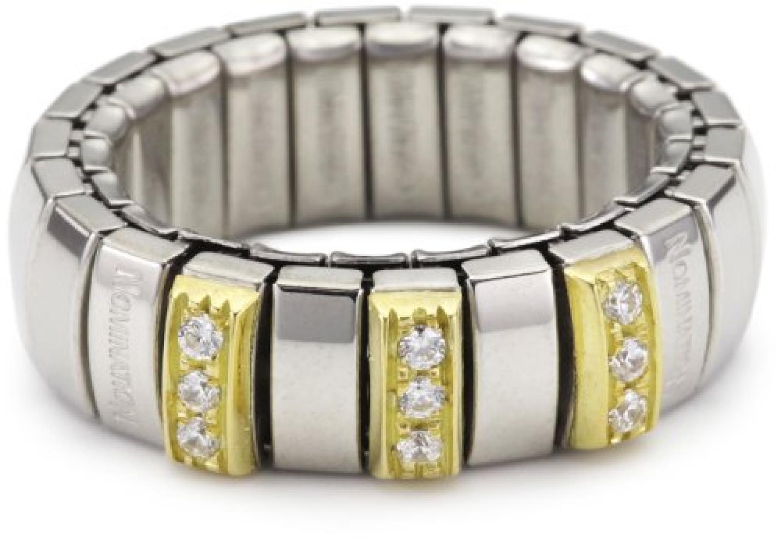 Nomination Damen-Ring N.Y. Klein Mit Weiß Ring größe variabel 040453/001