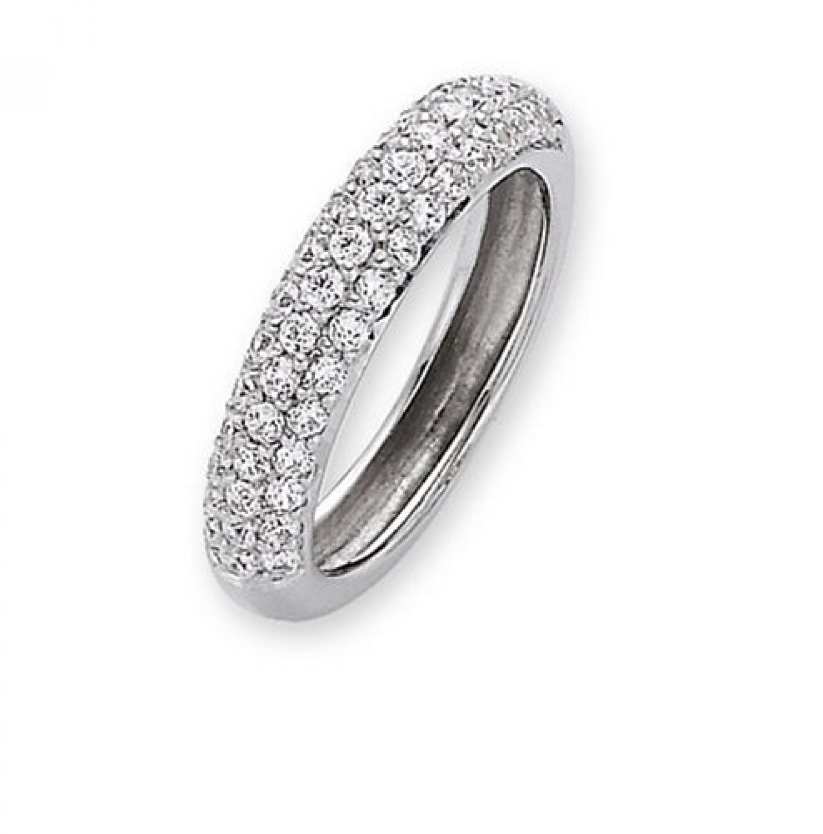 Celesta Damenring 925/- Sterling Silber Ringweite: 54 273270545L