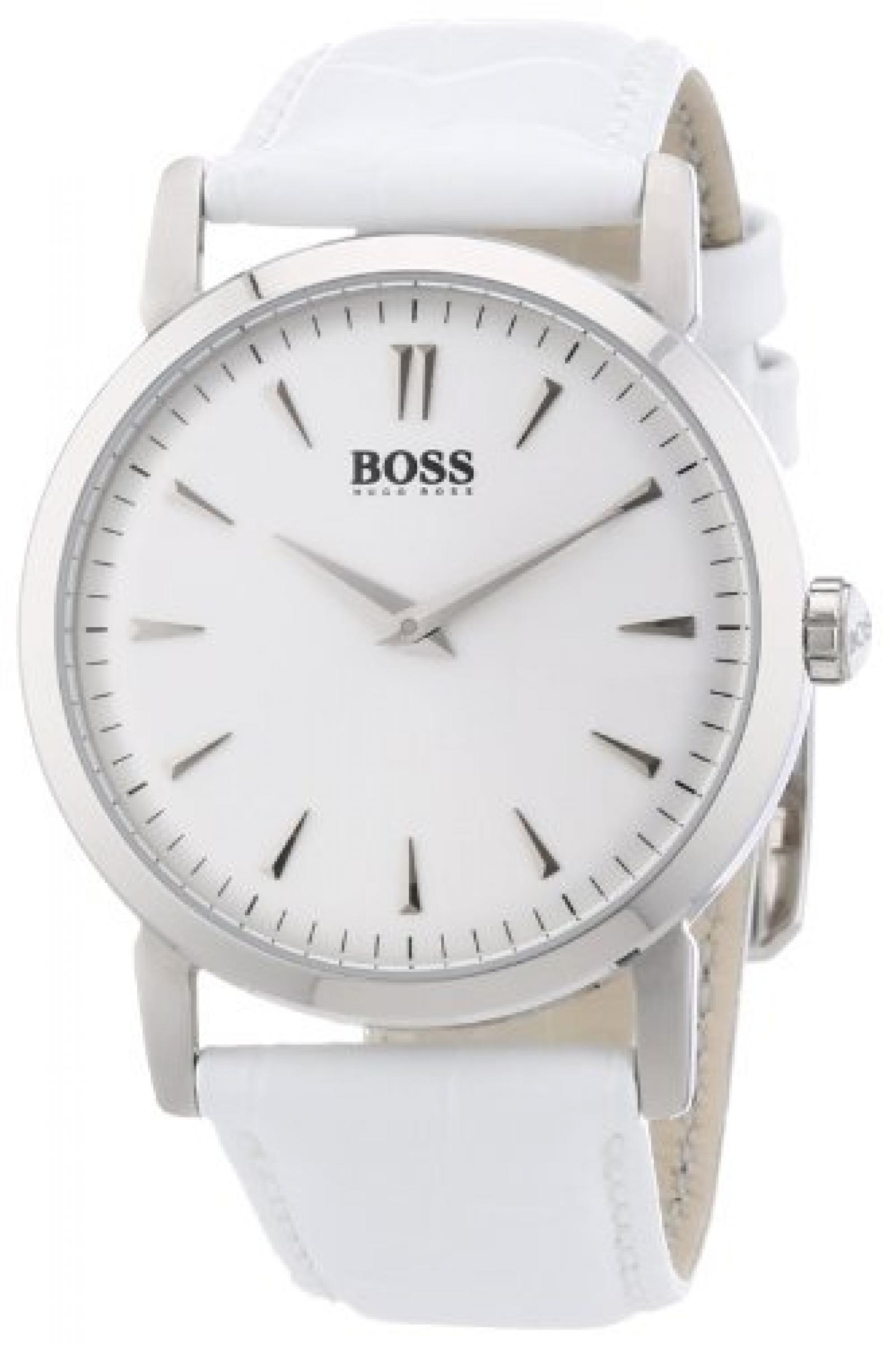 Hugo Boss Damen-Armbanduhr Analog Quarz Leder 1502300