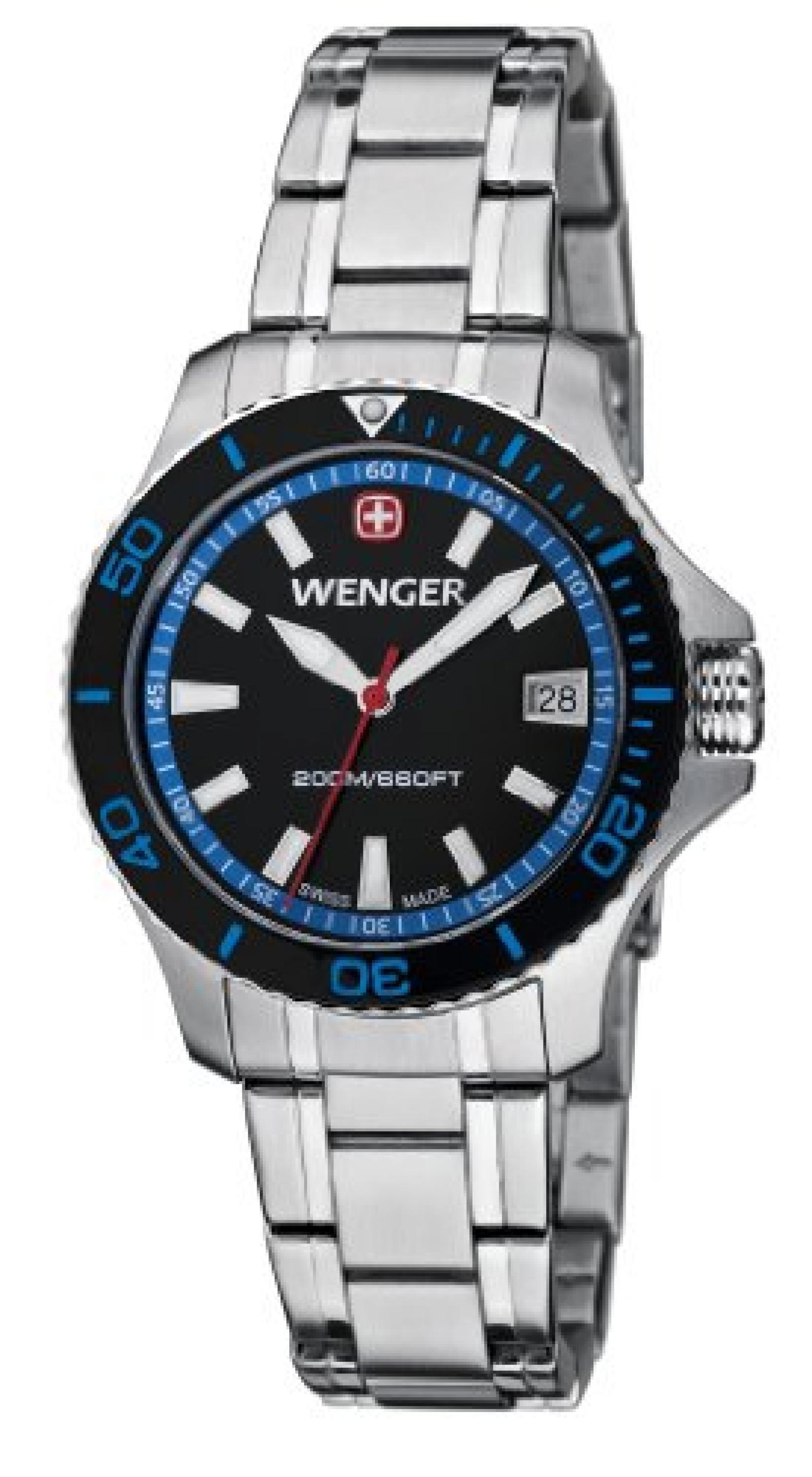 Wenger Damen-Armbanduhr Seaforce Analog Quarz Edelstahl 01.0621.104