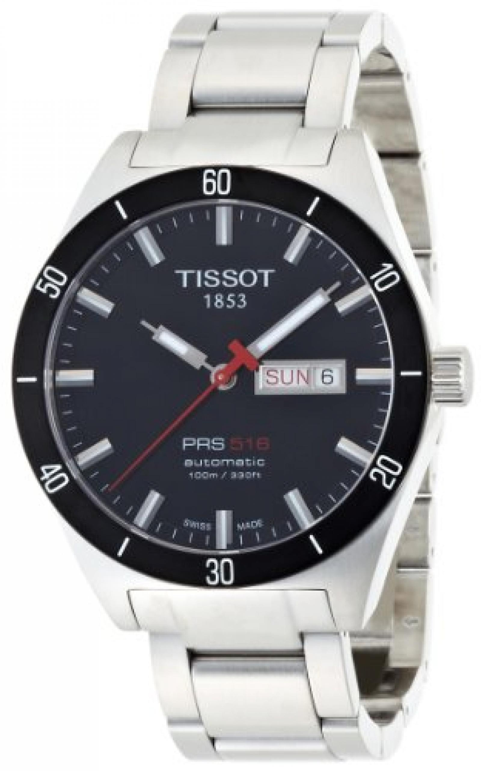 Tissot Herren-Armbanduhr PRS516 T0444302105100