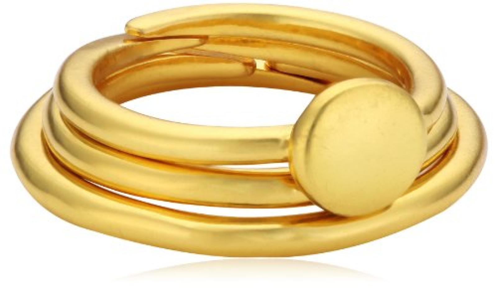 Pilgrim Jewelry Damen Ring Messing Stillness 0.6 cm 151422104