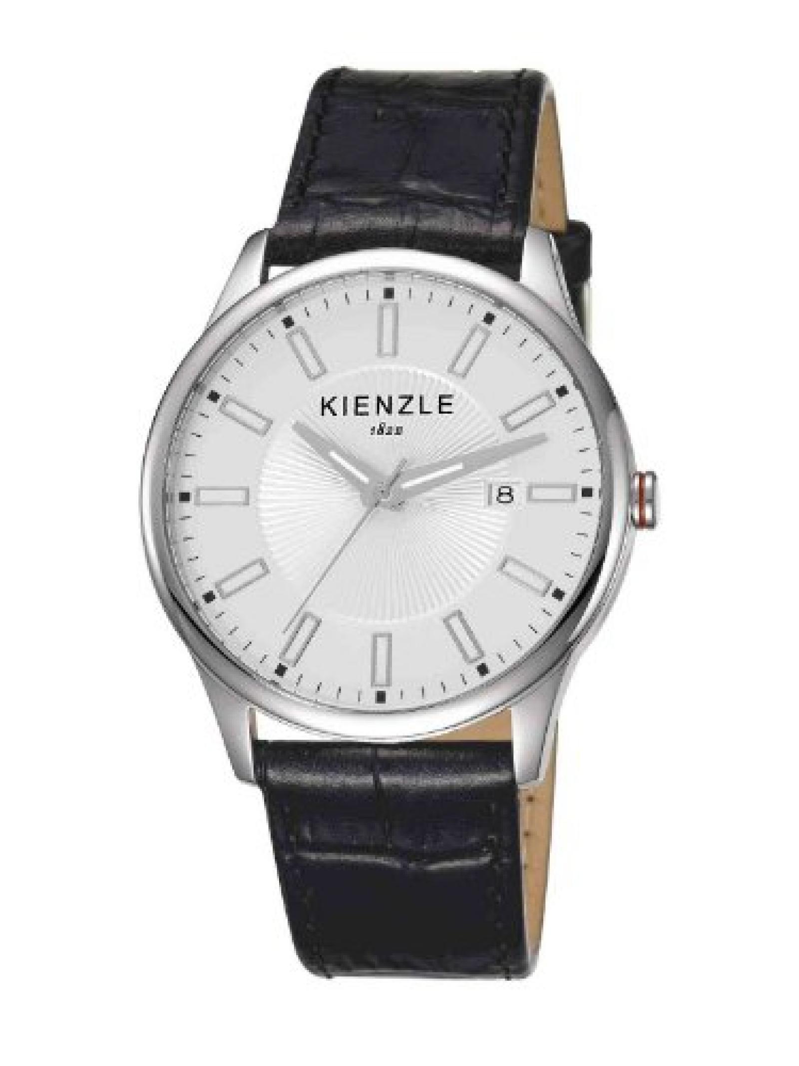 Kienzle Herren-Armbanduhr XL Analog Leder K3041011021