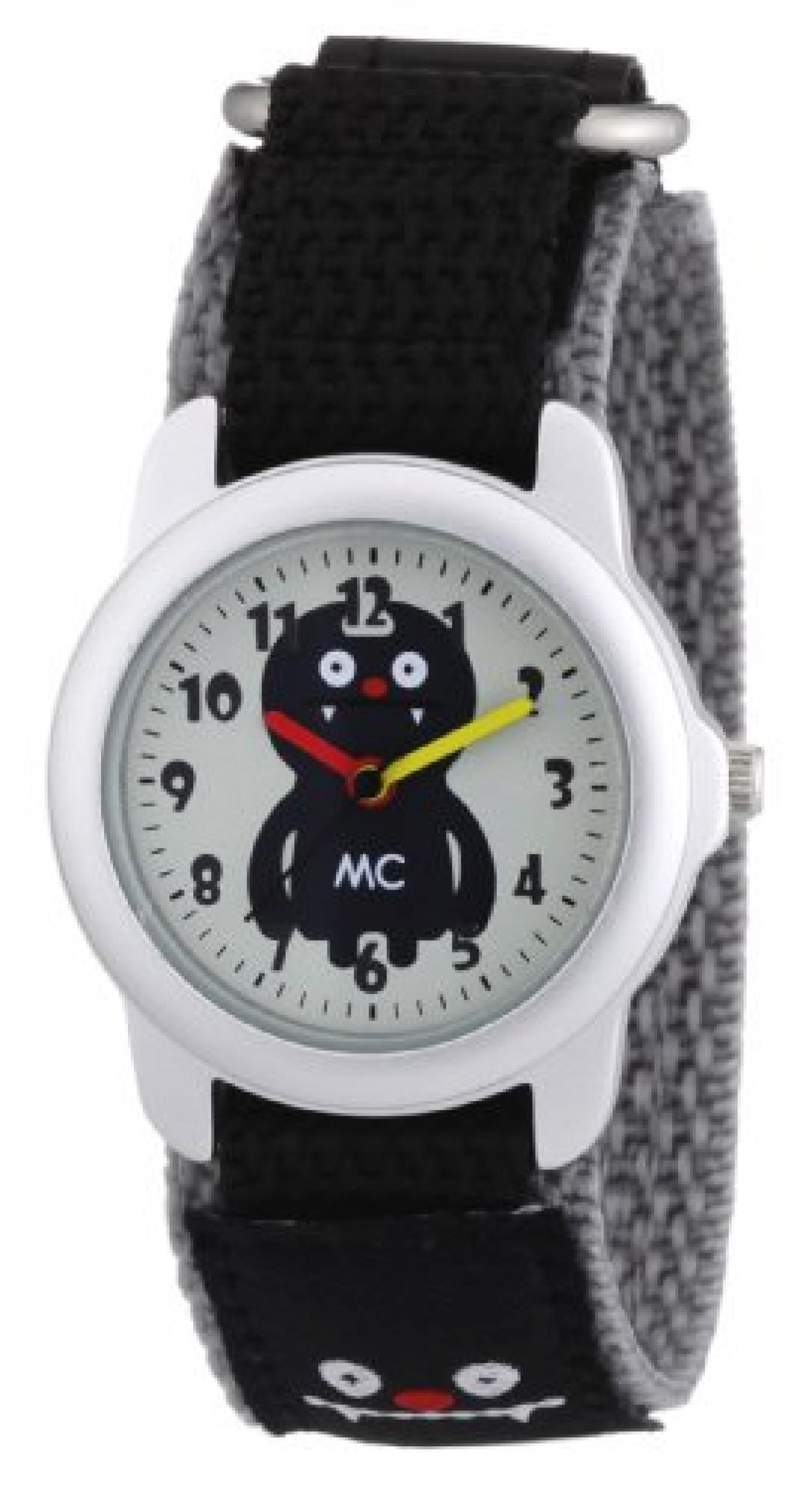 MC Timetrend Jungen-Armbanduhr Monster Analog Quarz Textil 10312
