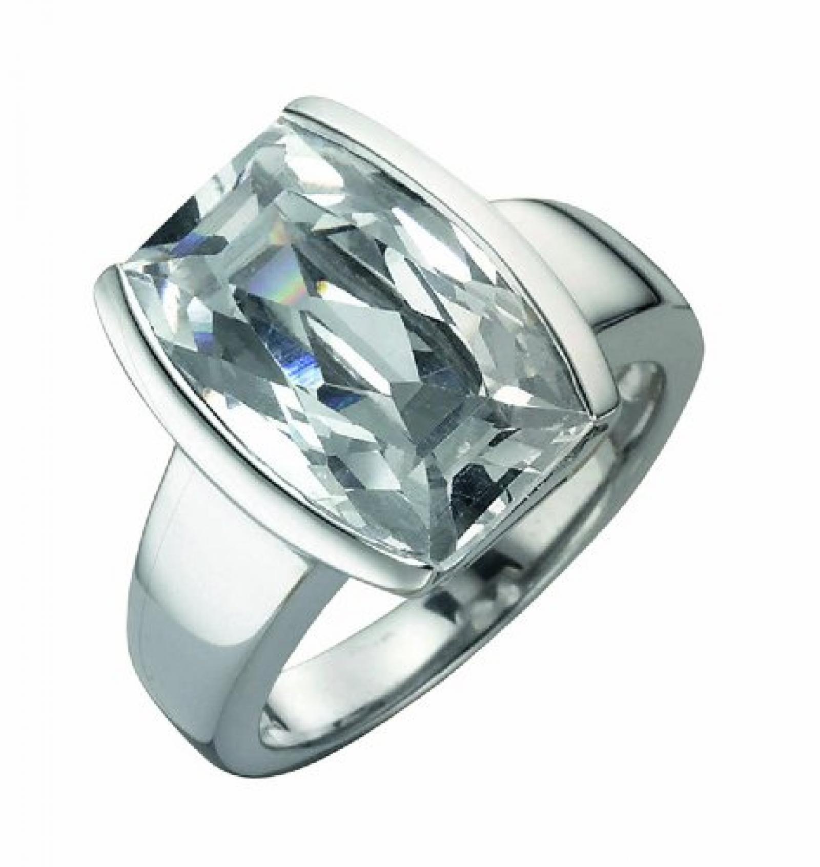 Celesta Damen-Ring 925 Sterling Silber Zirkonia weiß Gr. 57 (18.1) 273270779-9-018