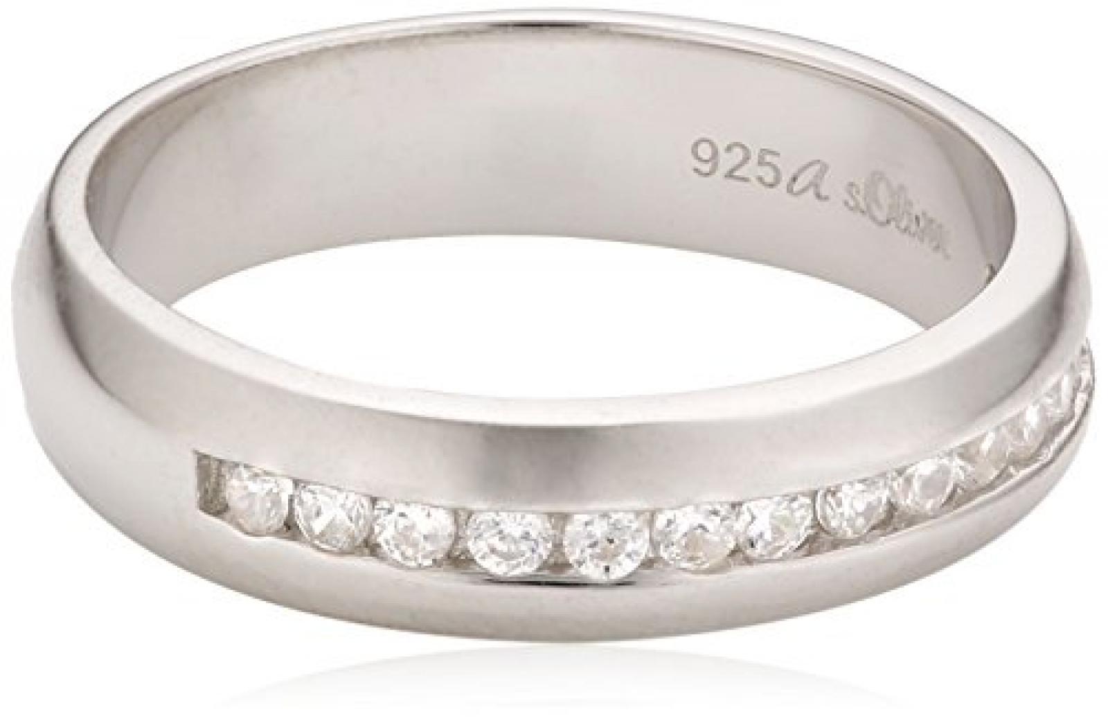 s.Oliver Damen-Ring Silber 925  Gr.54 400879