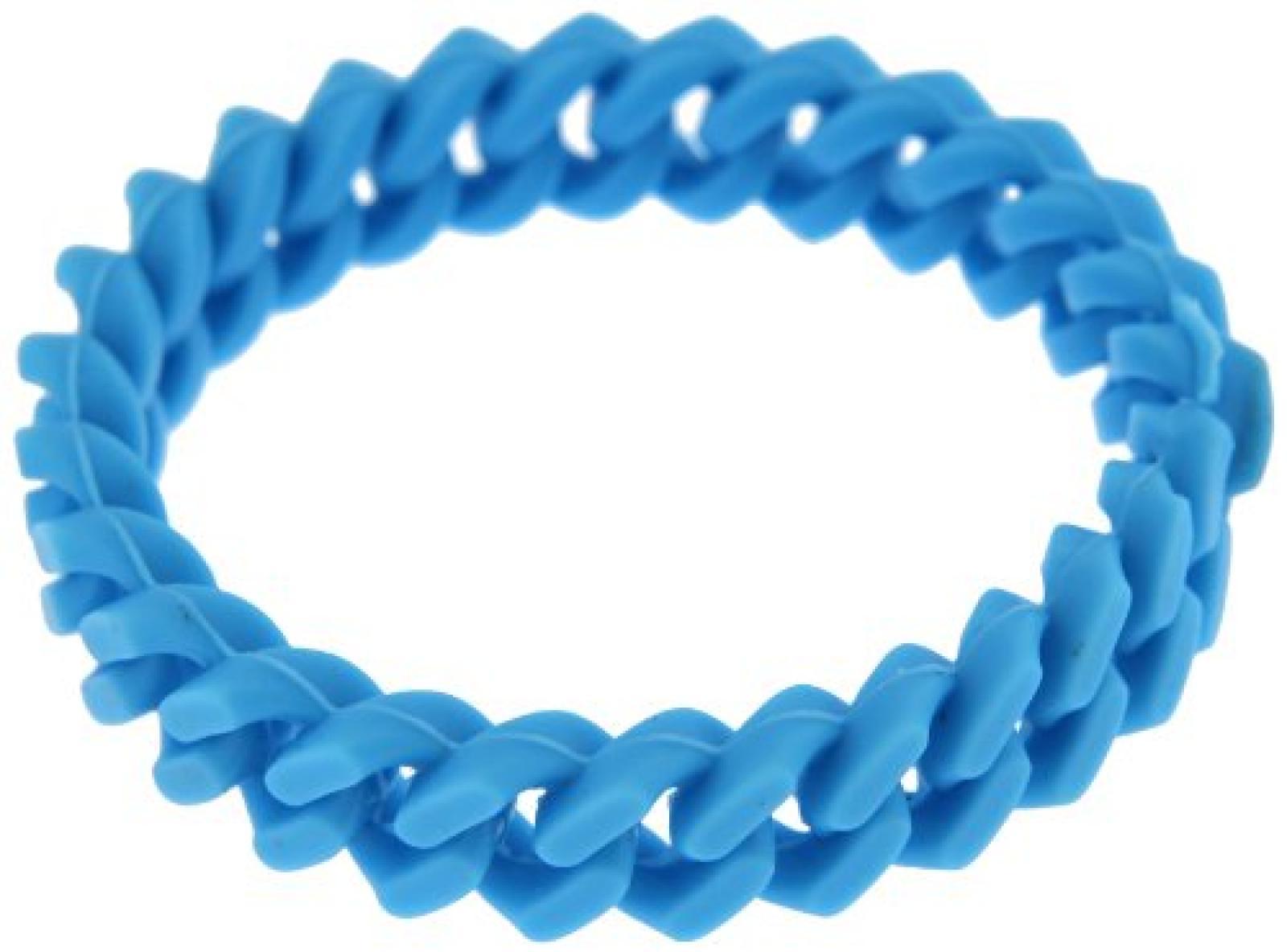Kettenworld Unisex Armband 18.0 cm blau 334610