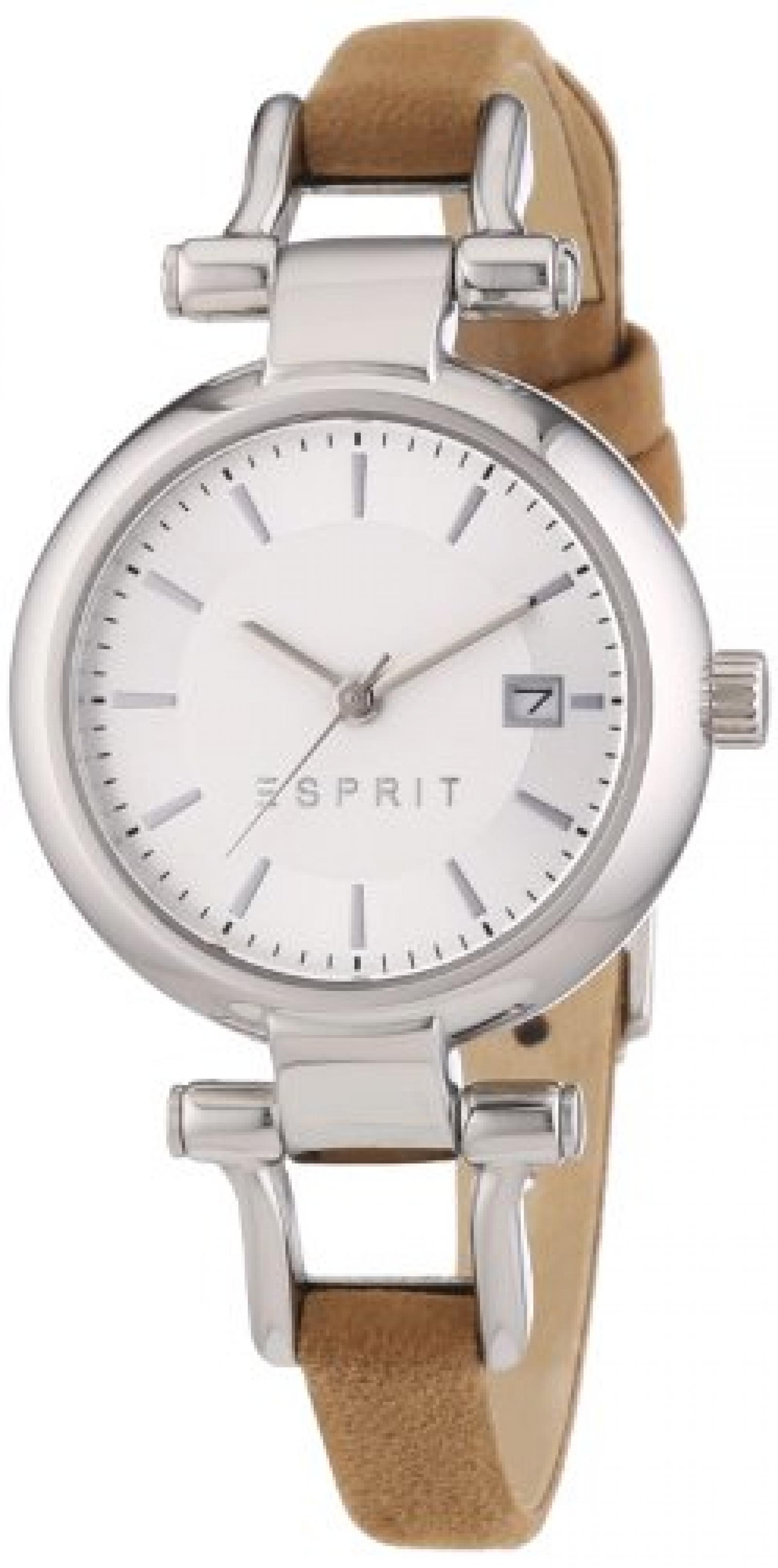 Esprit Damen-Armbanduhr XS Analog Quarz Leder ES107632001