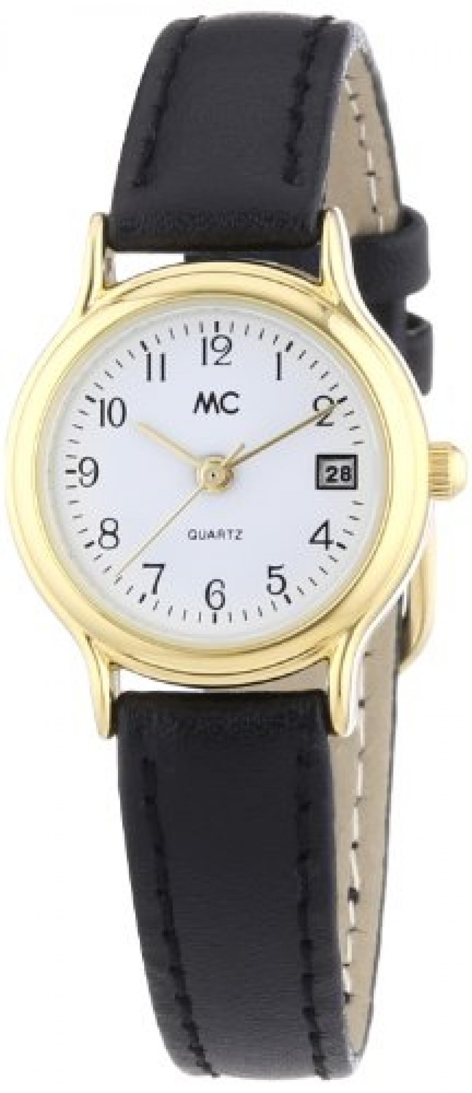 MC Timetrend Damen-Armbanduhr Analog Quarz Leder 17866