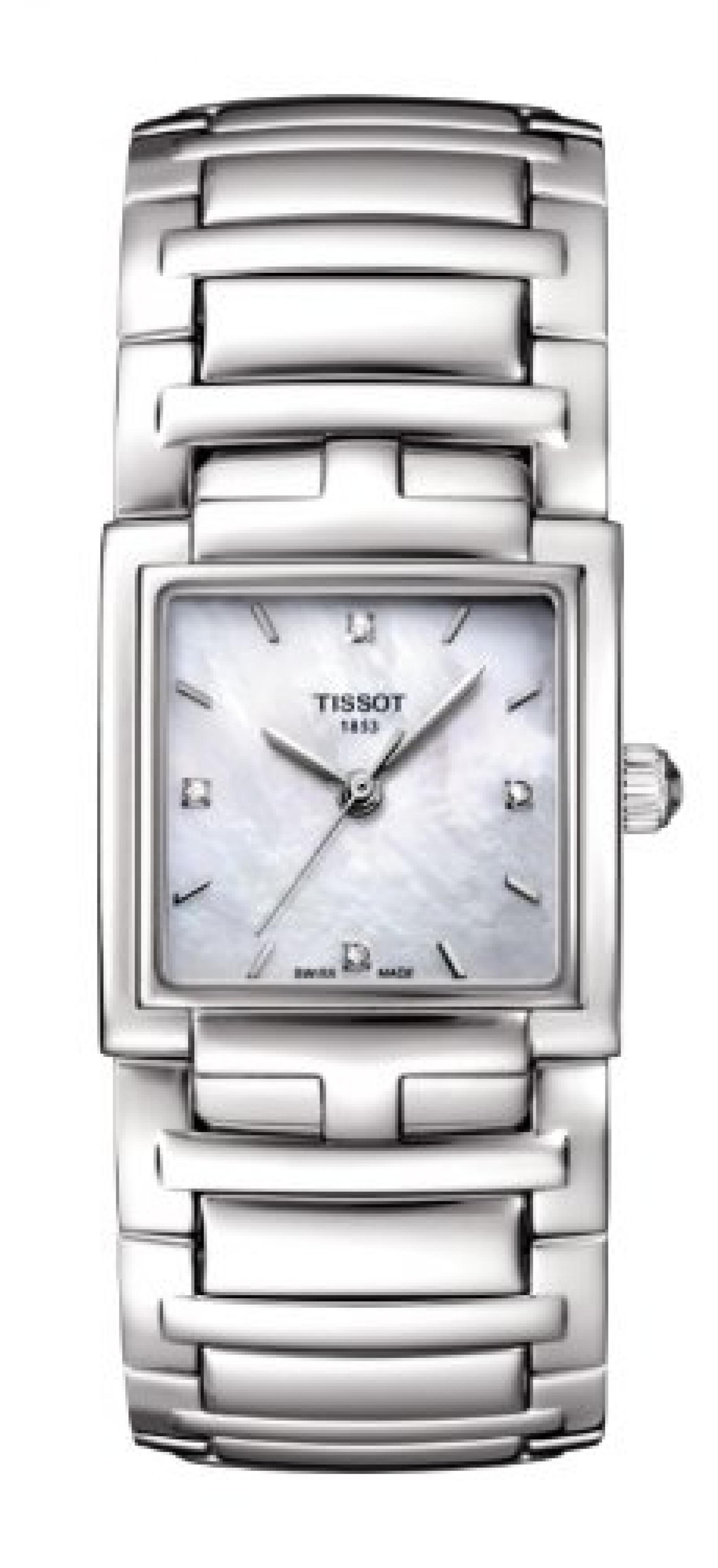 Tissot Damen-Uhren Quarz Analog T0513101111600