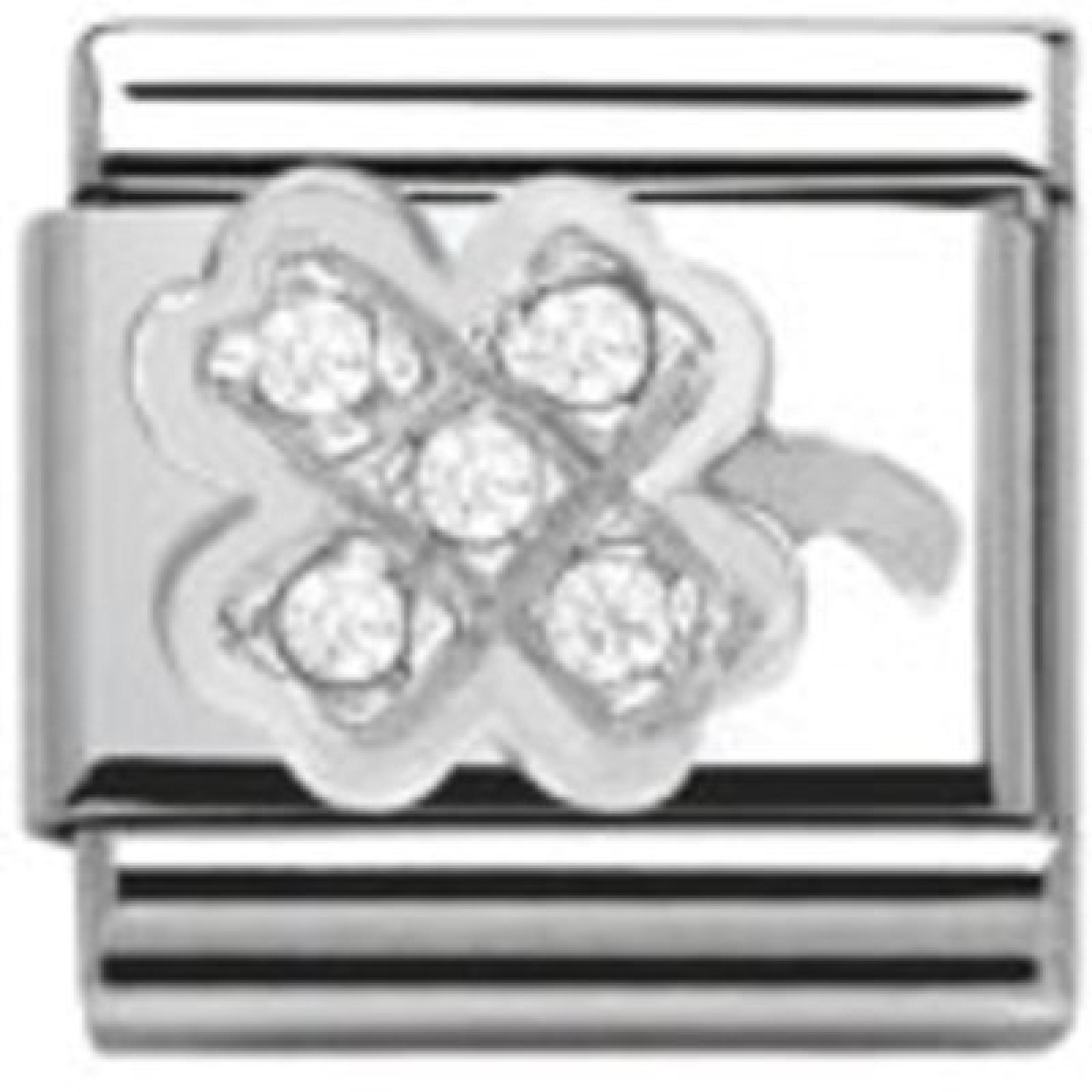 Classic Silver Shine Kleeblatt