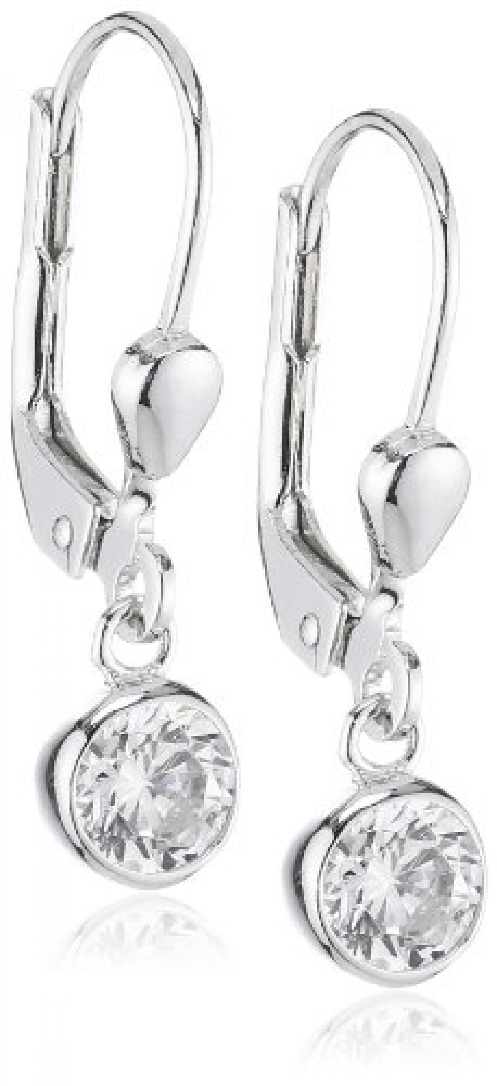 Amor Jewelry Damen-Ohrhänger 925 Sterling Silber 388719