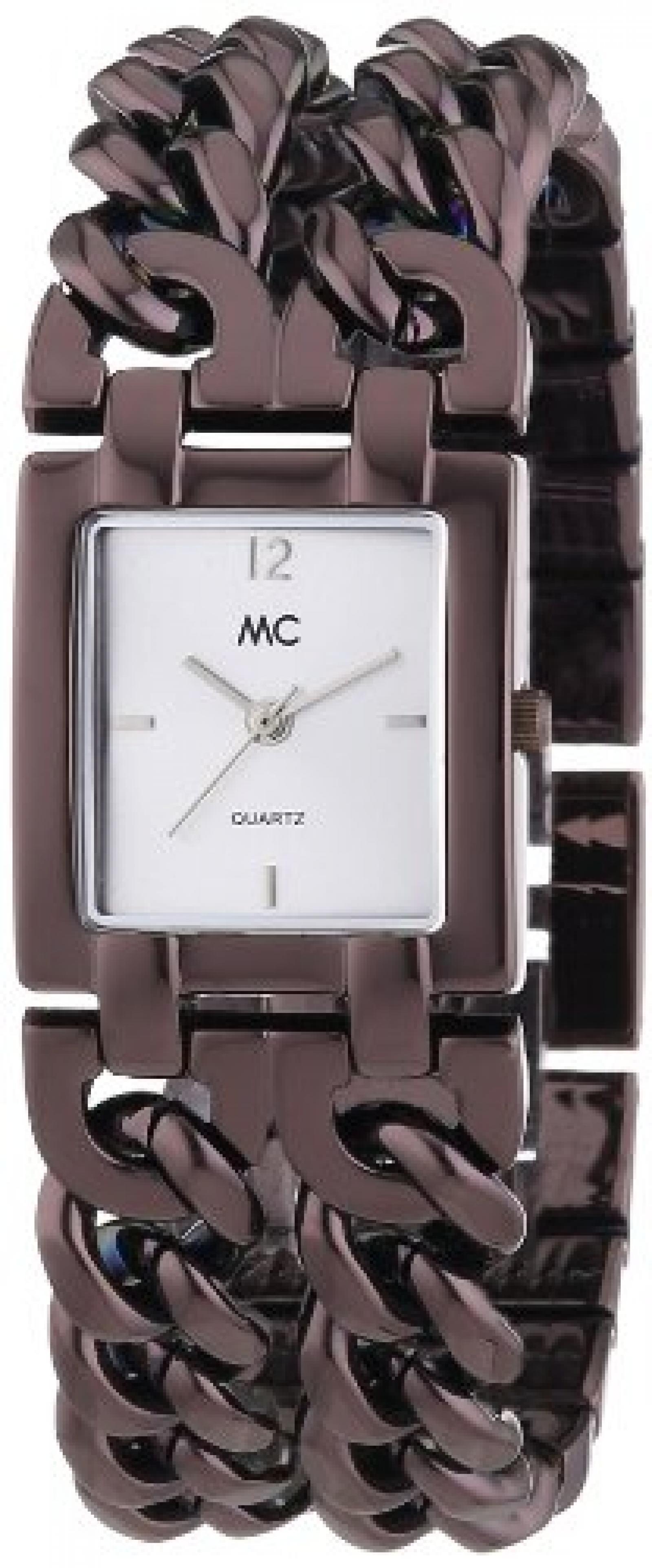MC Timetrend Damen-Armbanduhr Analog Quarz Metallband 50273