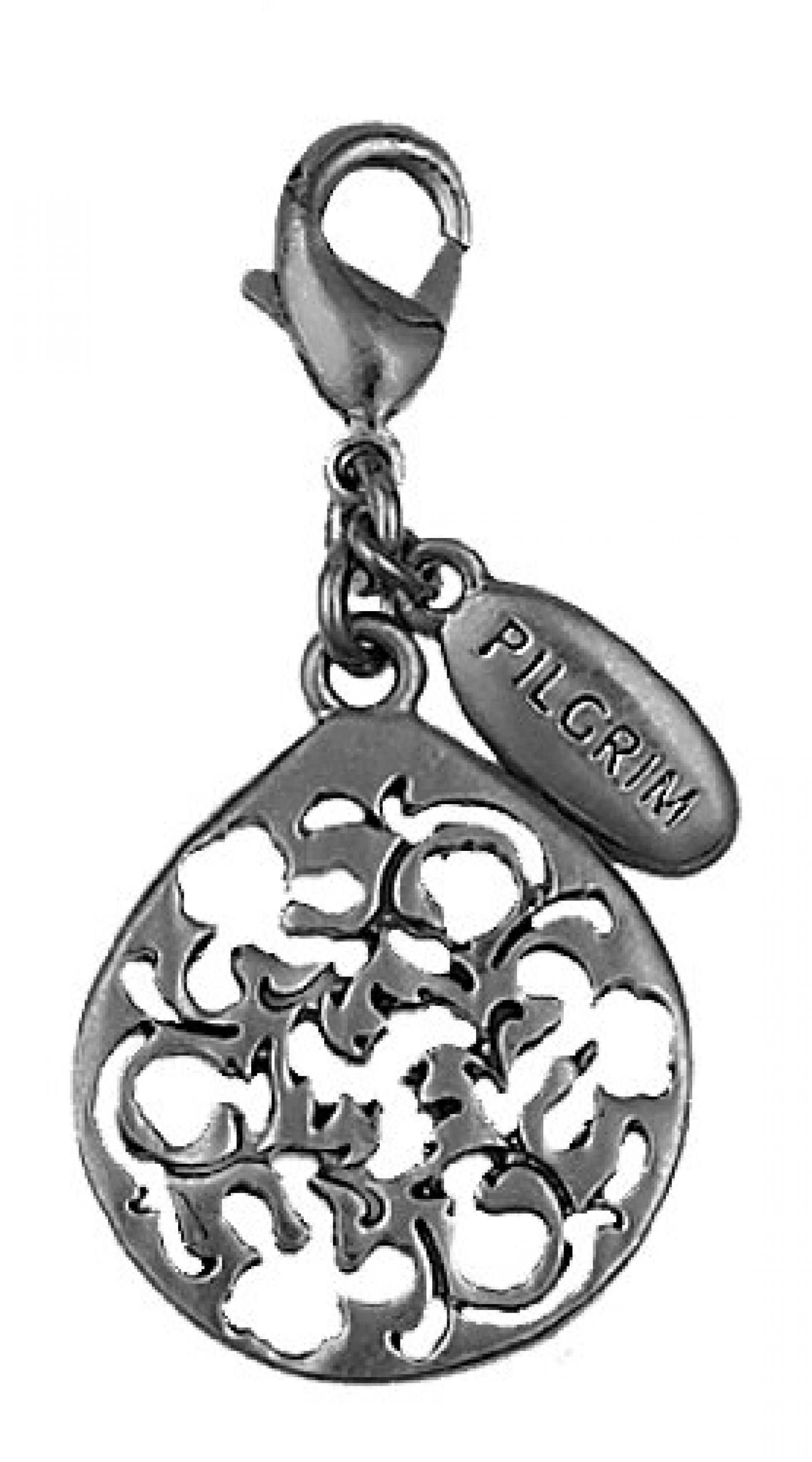 PILGRIM 560-275 Charms-Anhänger, Schwarzmetal