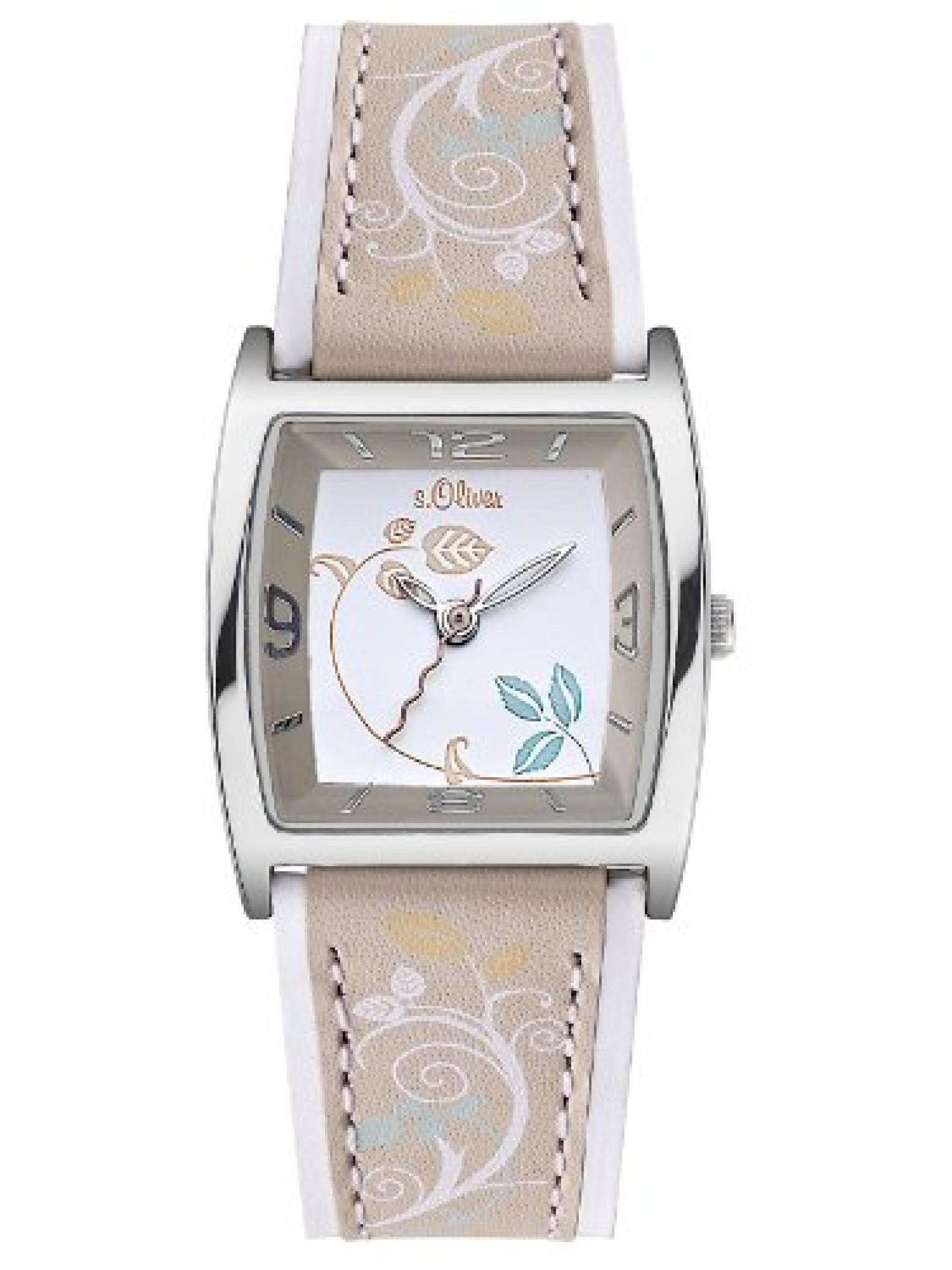 s.Oliver Damen-Armbanduhr SO-2125-LQ