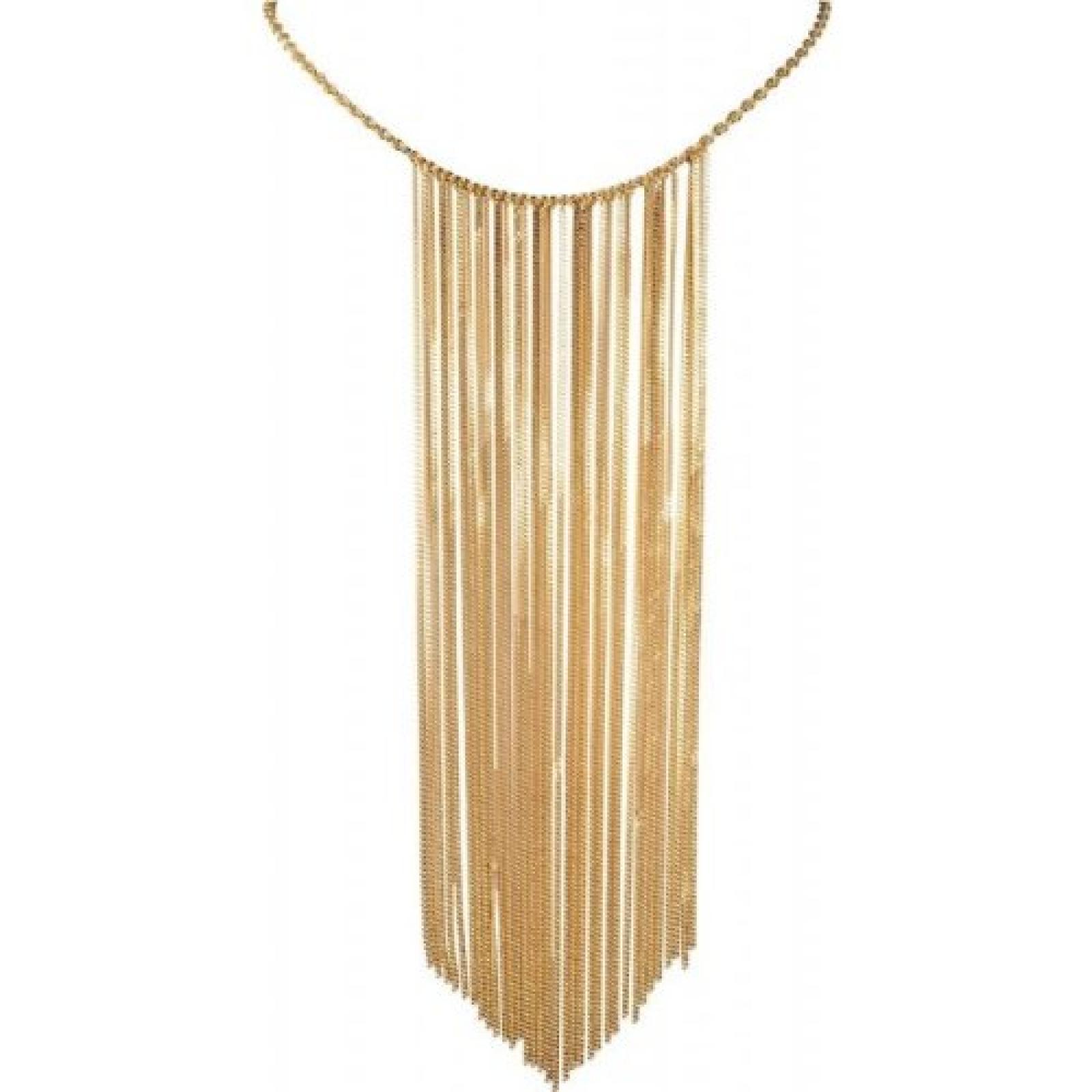 Damen Halskette Fringes NA 925 Sterling Silber rhodiniert 42 cm mehrfarbig JPNL90494B420