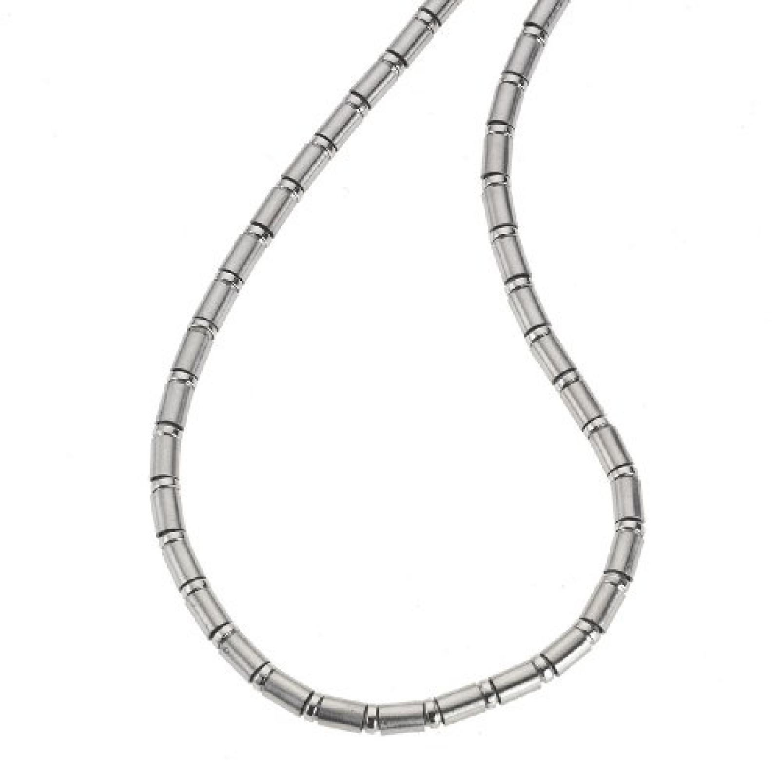 ZEEme Stainless Steel Collier 5mm stark aus Edelstahl und 50cm lang 385050011-50
