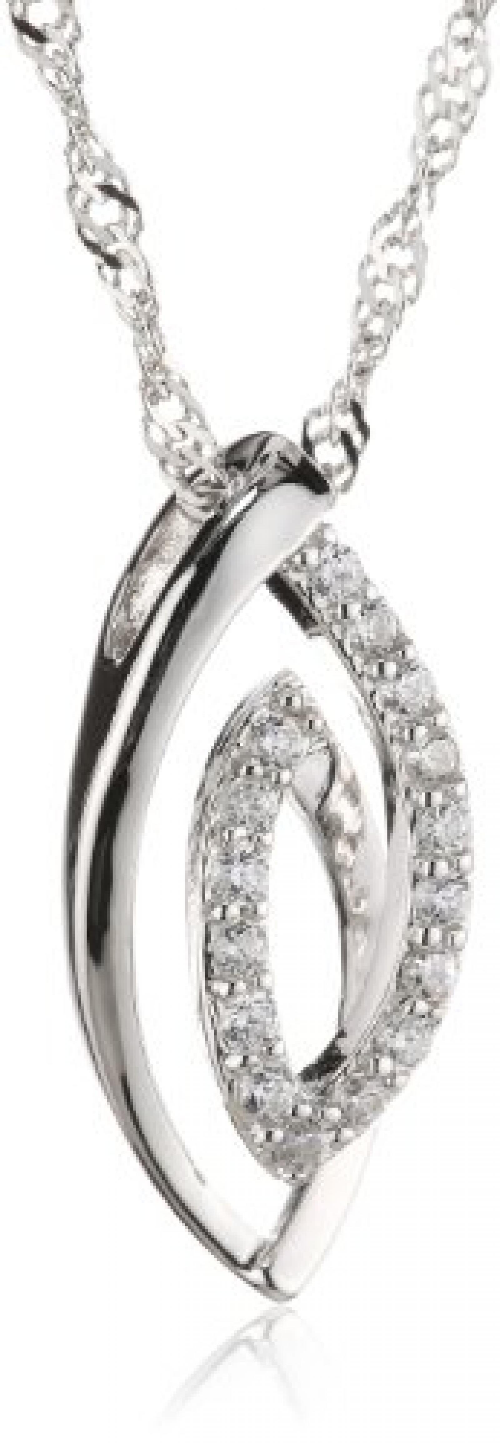 Amor Jewelry Damen-Halskette 925 Sterling Silber 451499