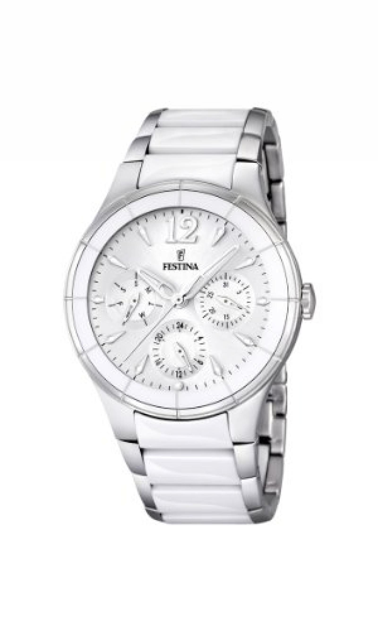 Festina Damen-Armbanduhr Analog Quarz verschiedene Materialien F16624/1