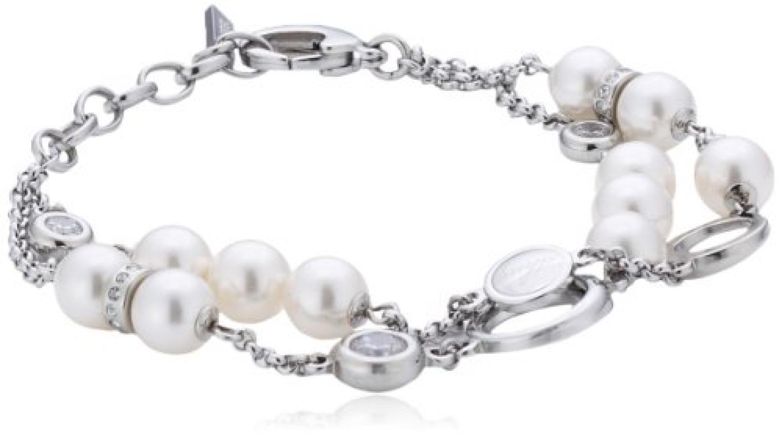 DKNY Damen-Armband Edelstahl Zirkonia NJ1608040