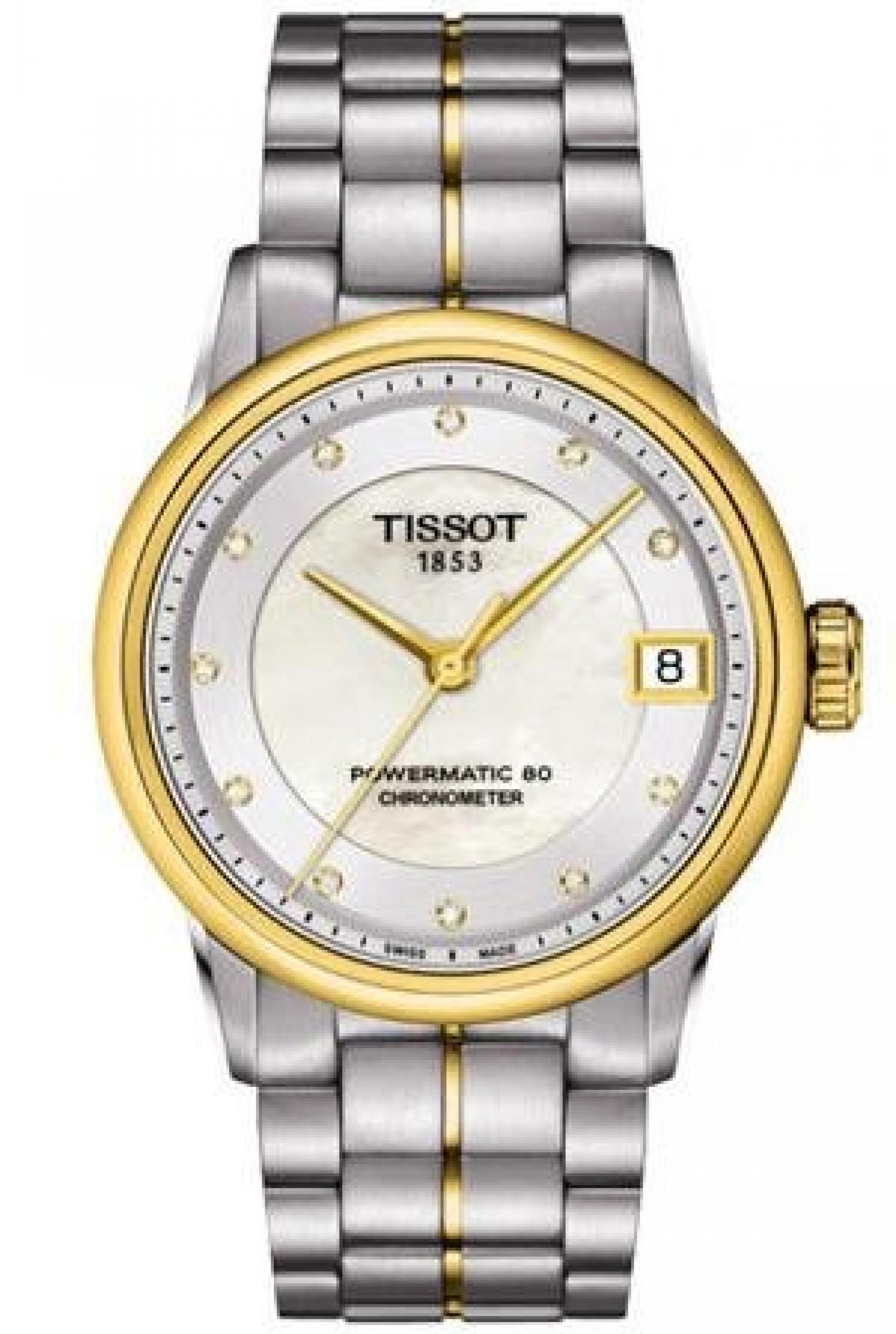 Tissot T-Classic Luxury Automatic COSC Chronometer T086.208.22.116.00